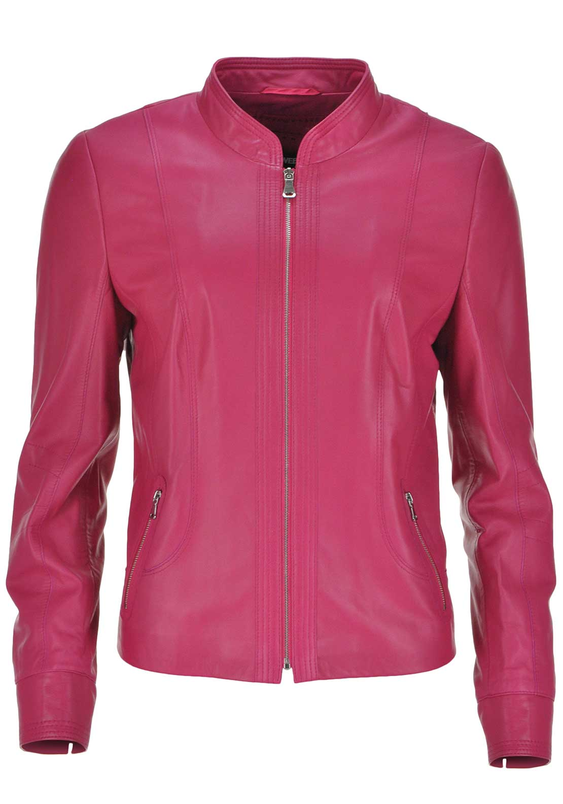 Gerry Weber Leather Jacket, Pink
