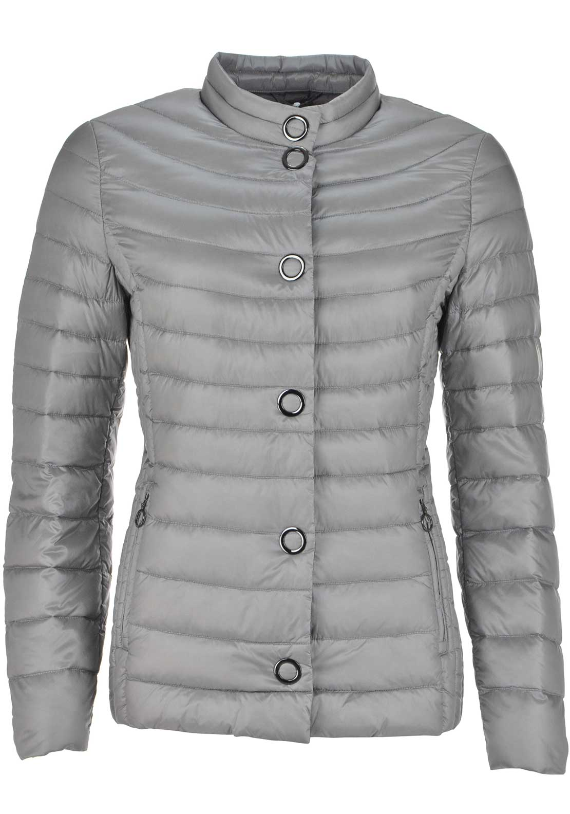 Gerry Weber Quilted Anorak Jacket, Grey