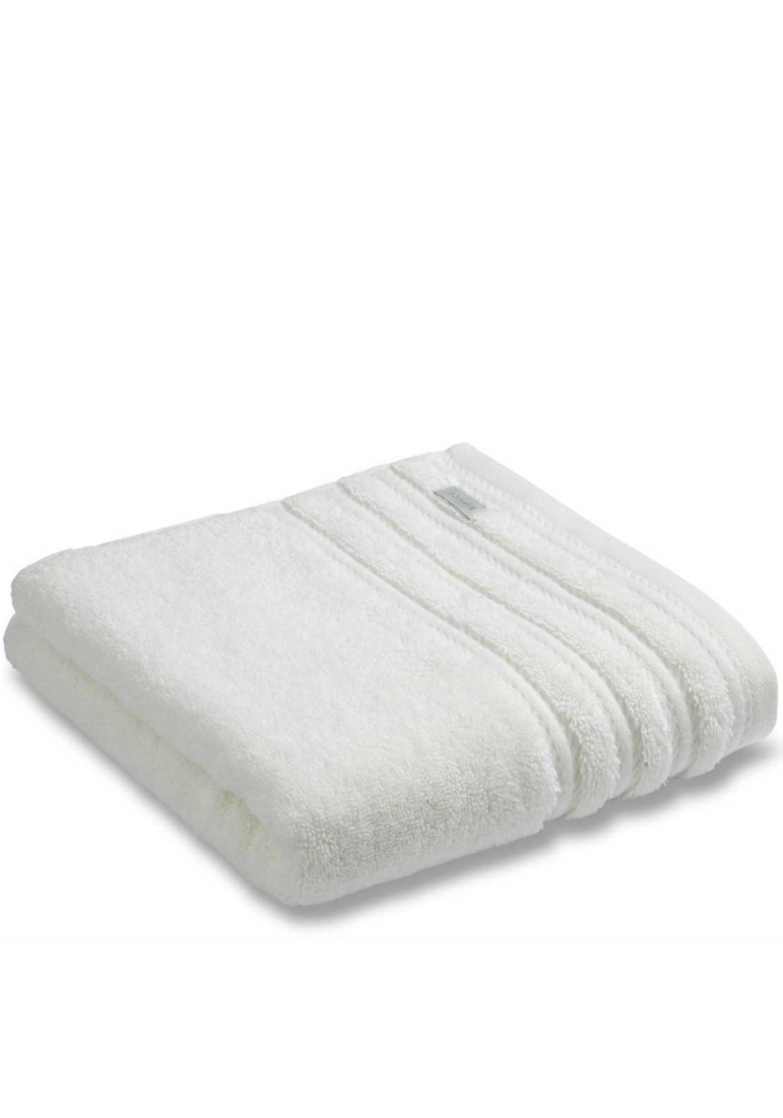 Bianca Combed Cotton Towel Range, Cream