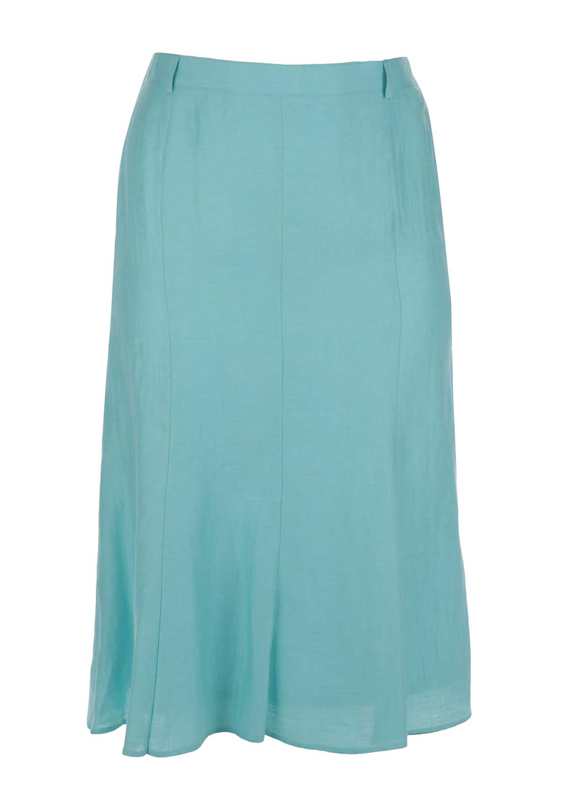 Eugen Klein A-line Skirt, Turquoise