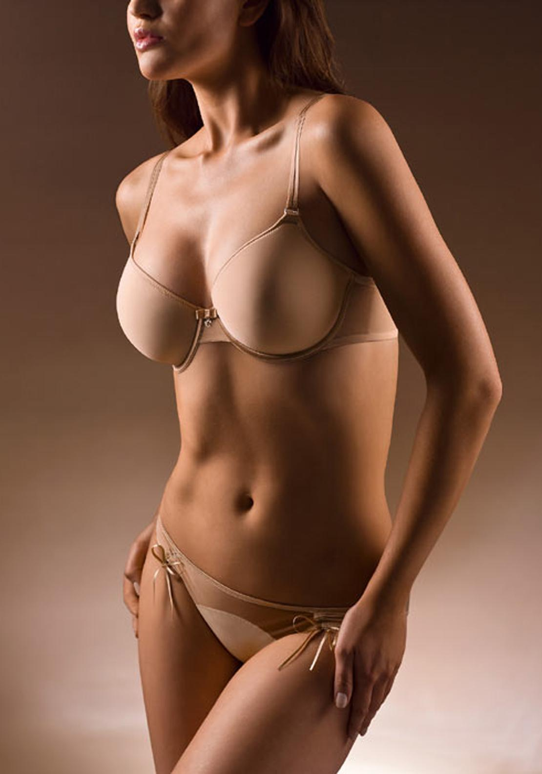 Chantelle Sublime Invisible Spacer T-Shirt Bra, Nude