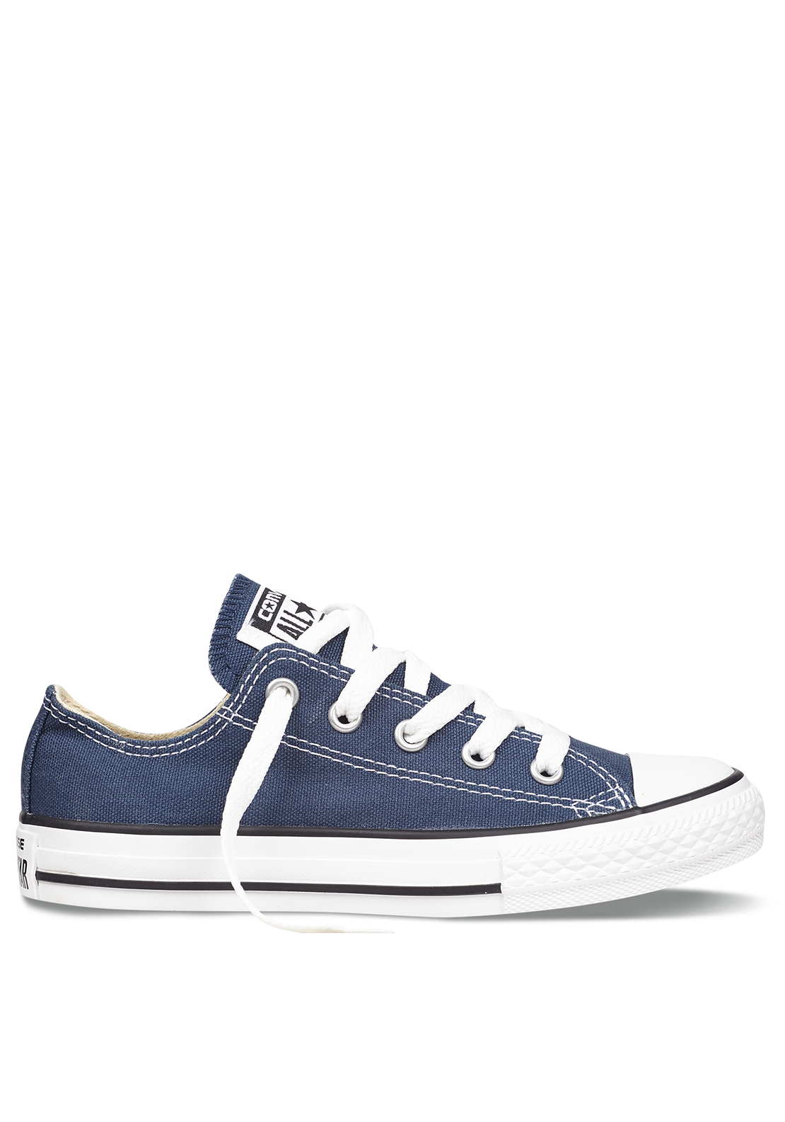 Converse All-Star Kids Ox Low Trainers, Navy
