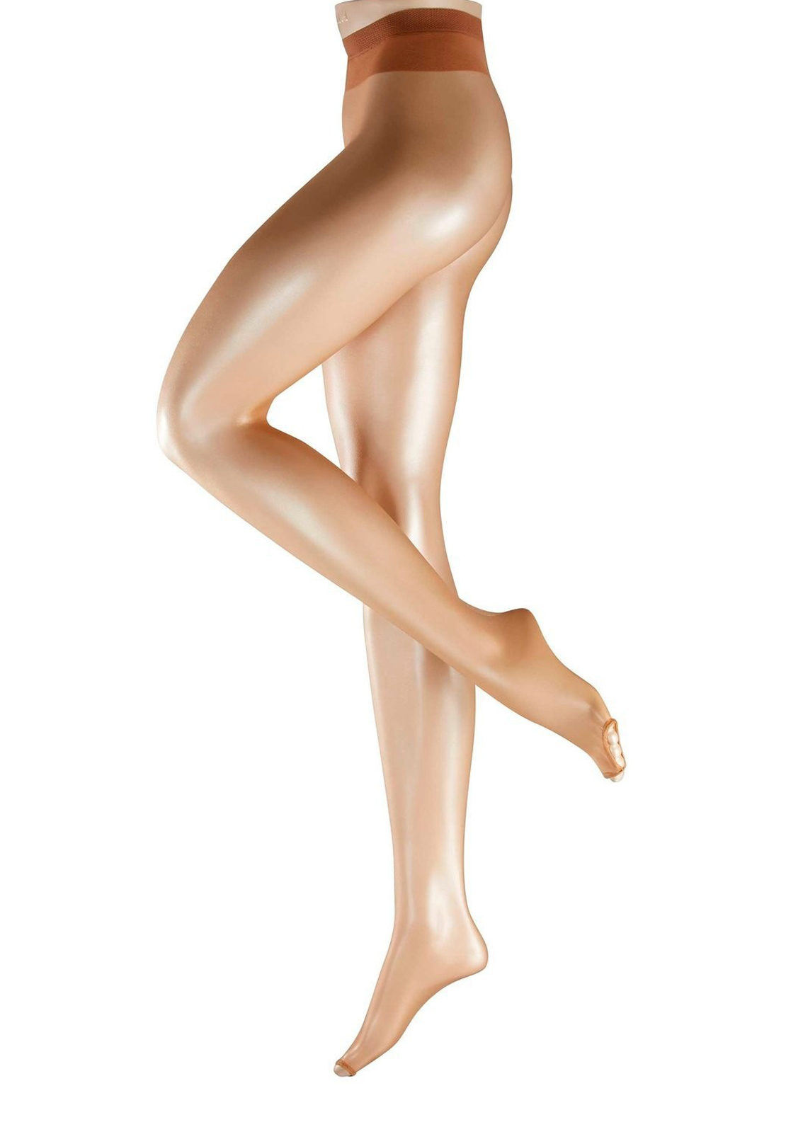 Falke 12 Denier Toeless Tights, Sun