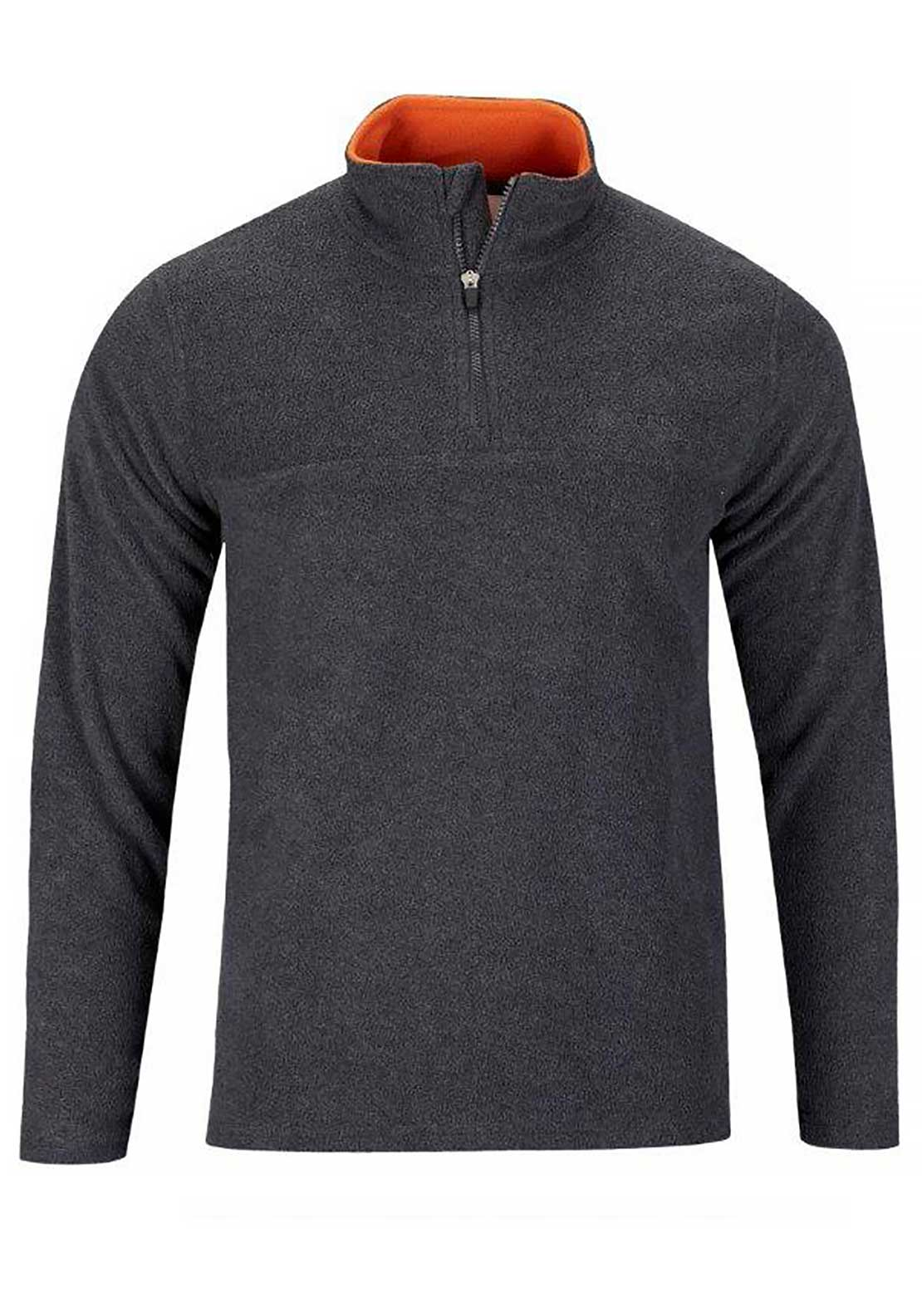 Berg Outdoor Mens Kluane Fleece, Dark Grey