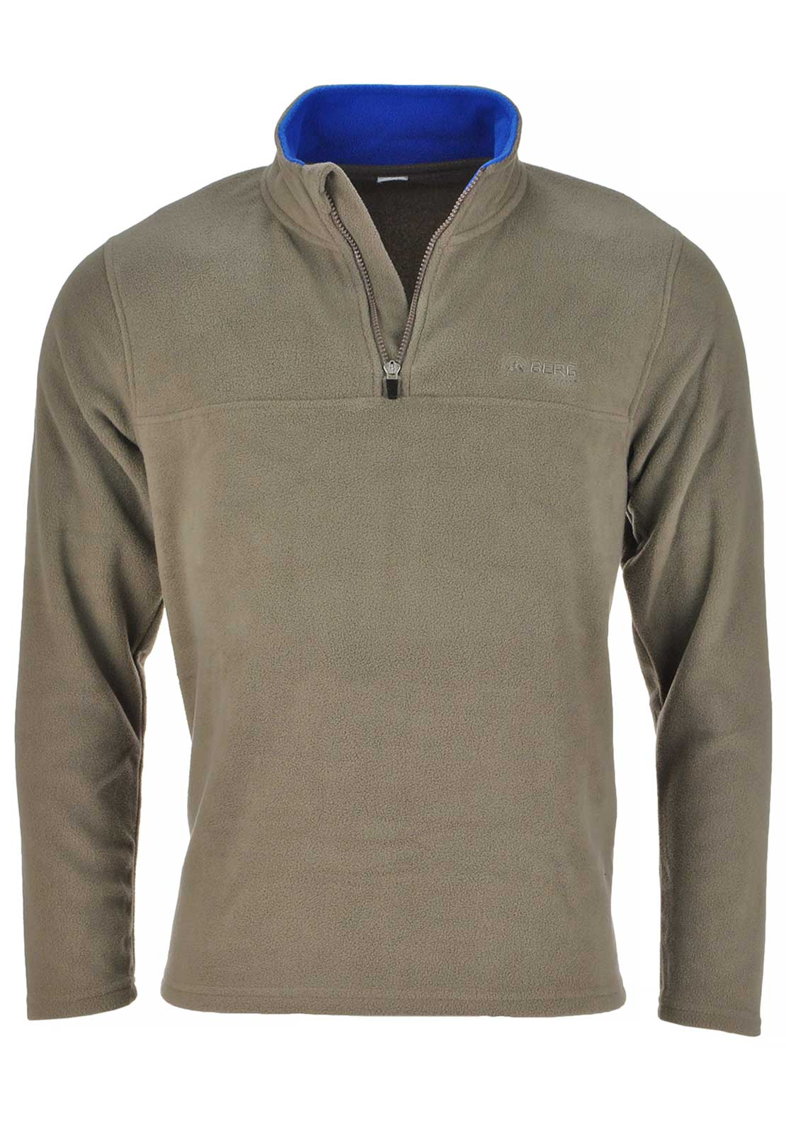 Berg Outdoor Mens Kluane Fleece, Fossil