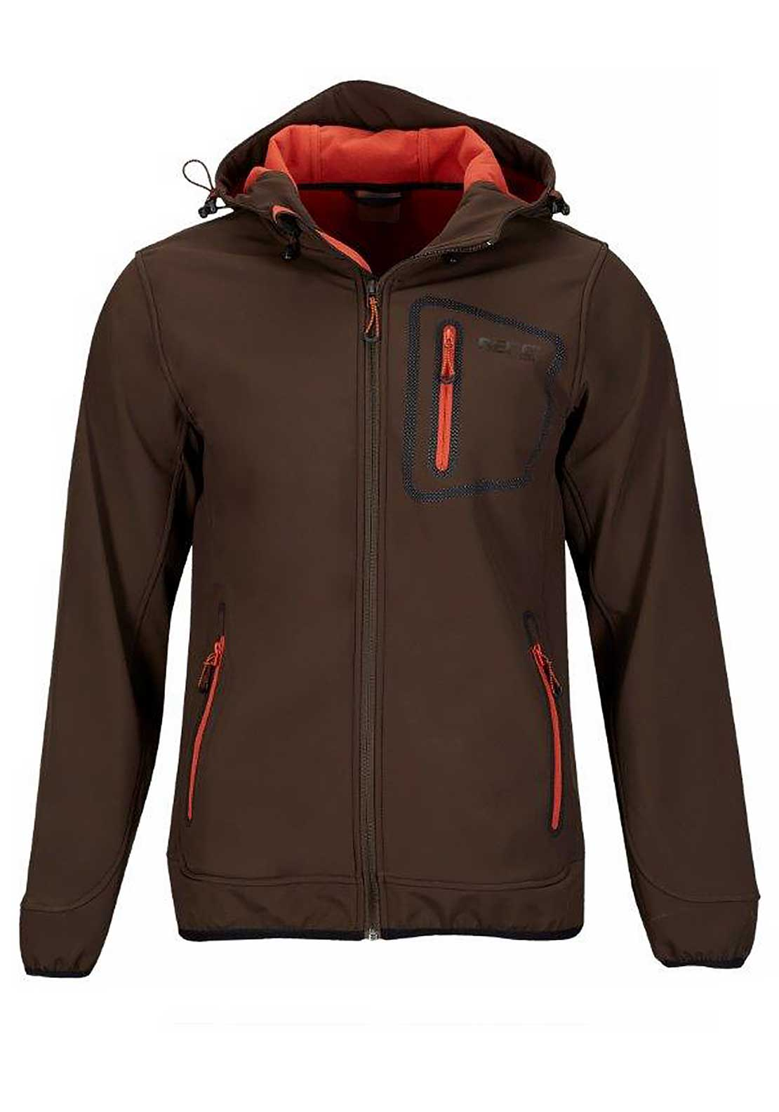 Berg Outdoor Mens Yukdi Hooded Jacket, Brown
