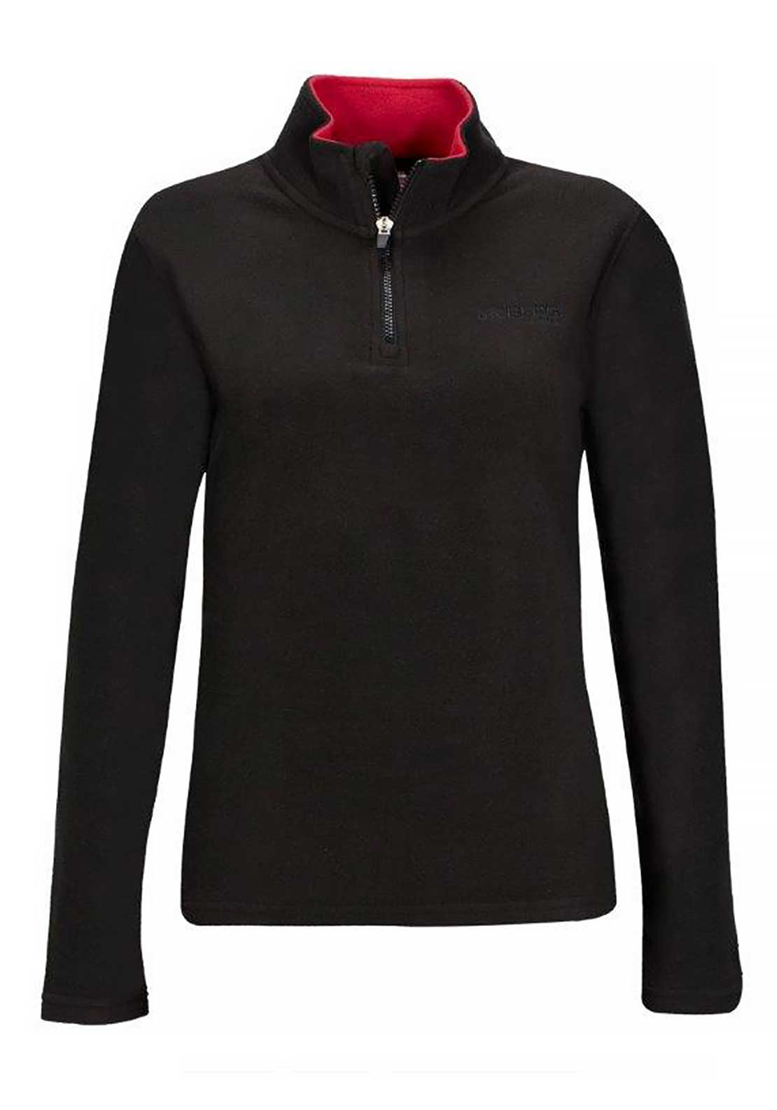 Berg Outdoor Womens Kulane Fleece, Black