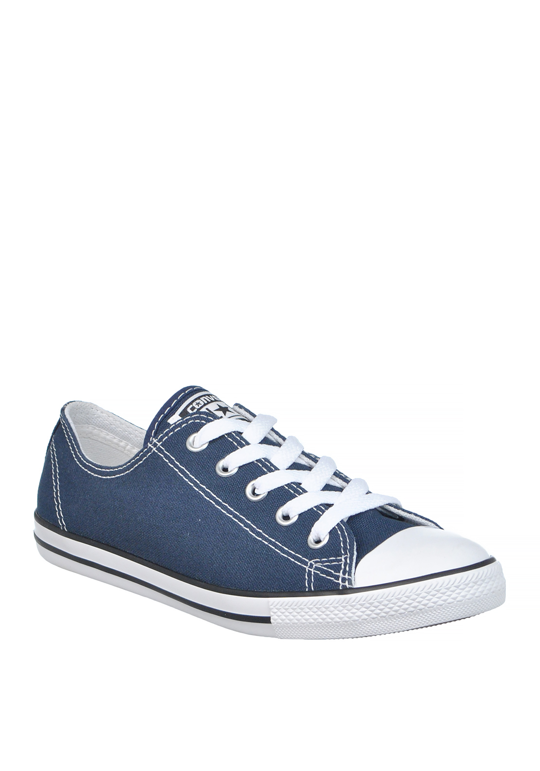 Converse Womens All Star Dainty OX Trainers, Navy