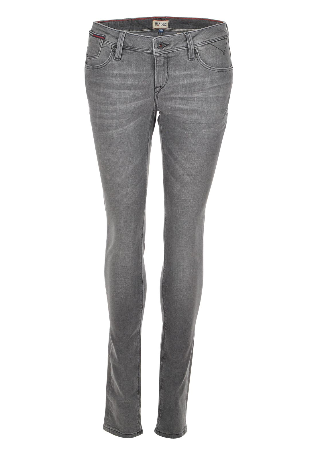 Tommy Hilfiger Womens Natalie Skinny Jeans, Grey