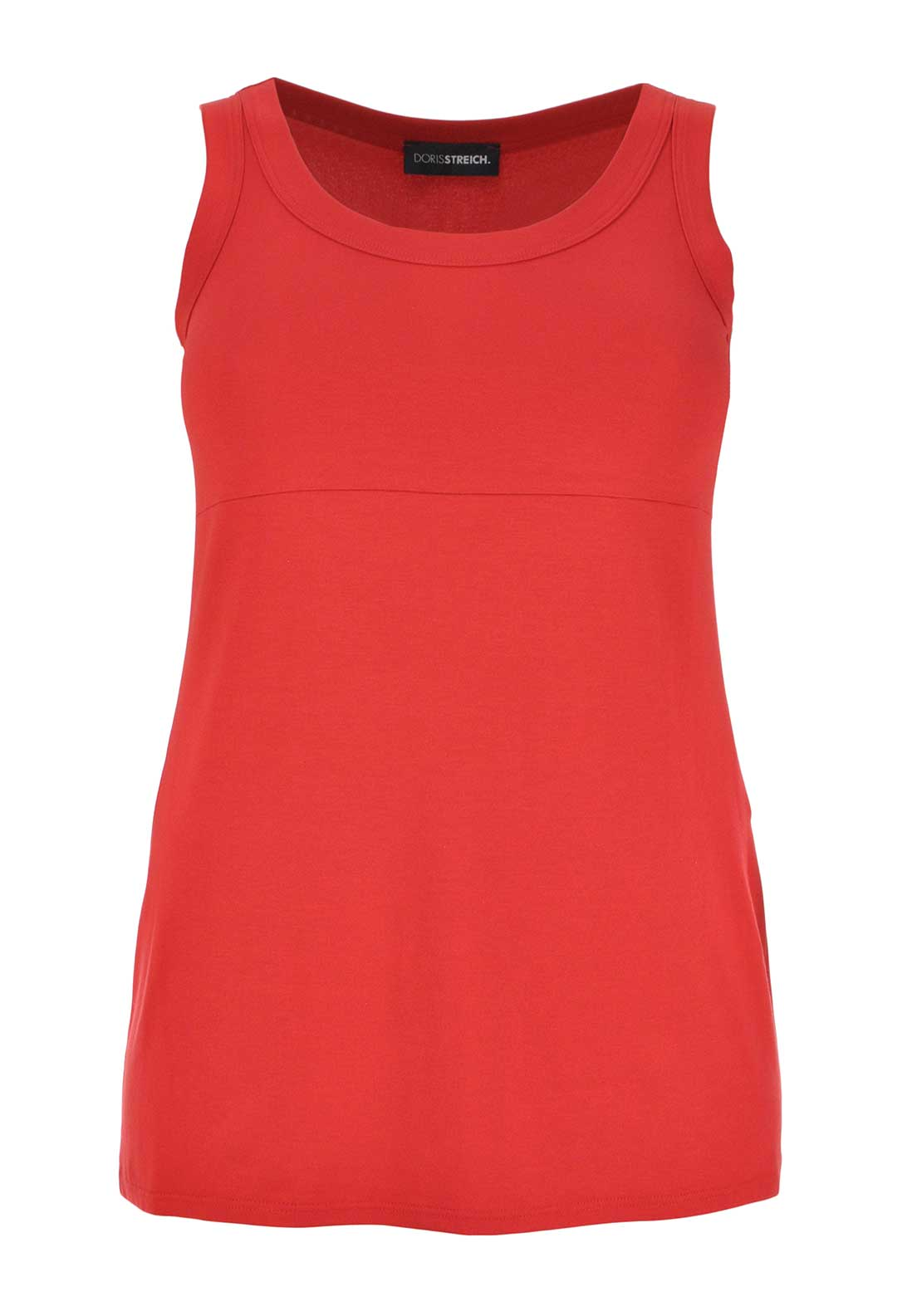 Doris Streich Sleeveless Vest Top, Red