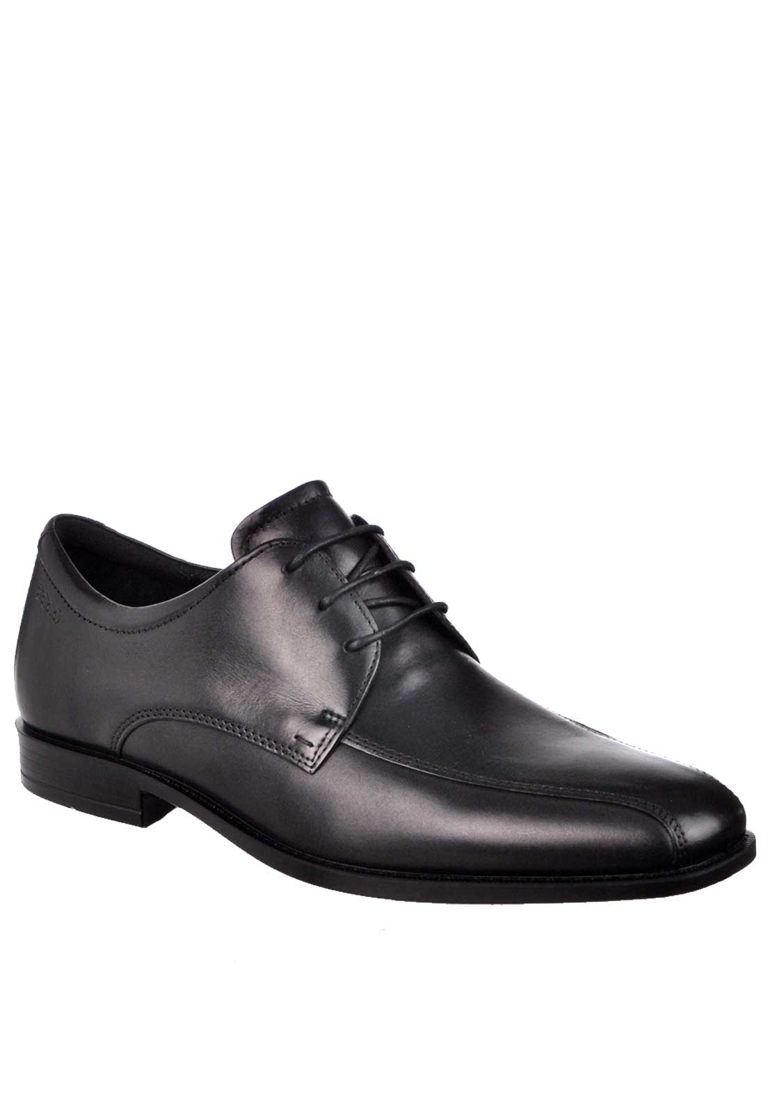 Ecco Mens Edinburgh Formal Lace Up Leather Shoe, Black