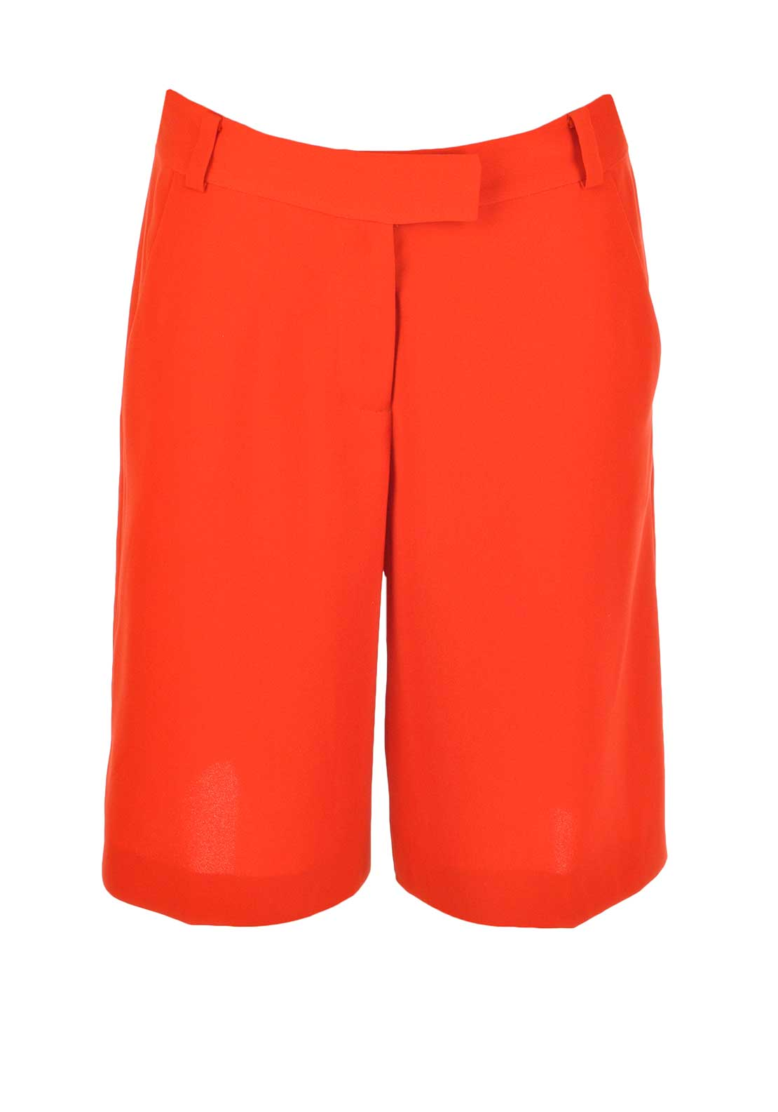 French Connection Womens Culotte Shorts, Masai Red