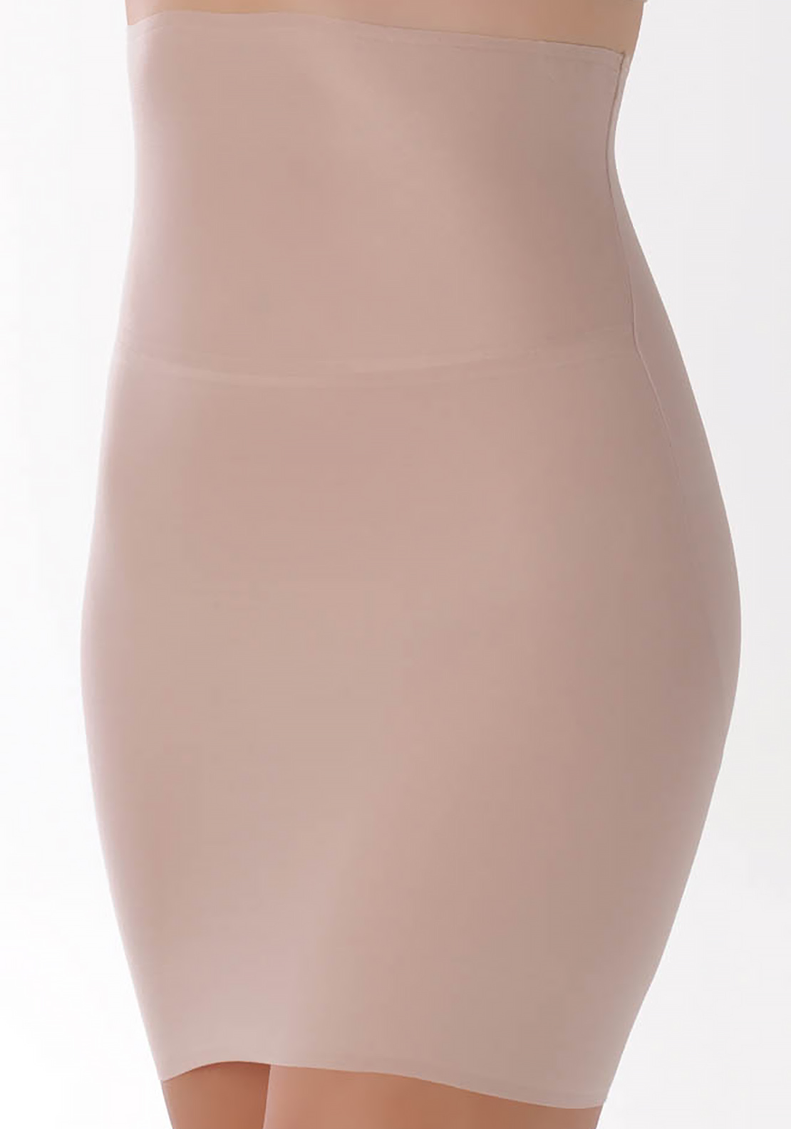 Naomi and Nicole Amazing Light Adjustable Rise Waist Shaper, Nude