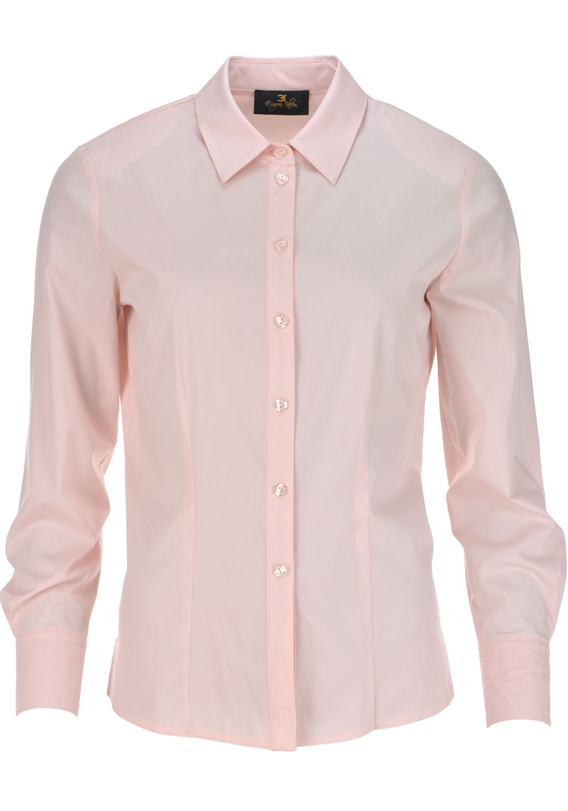 Eugen Klein Classic Long Sleeve Blouse, Pink