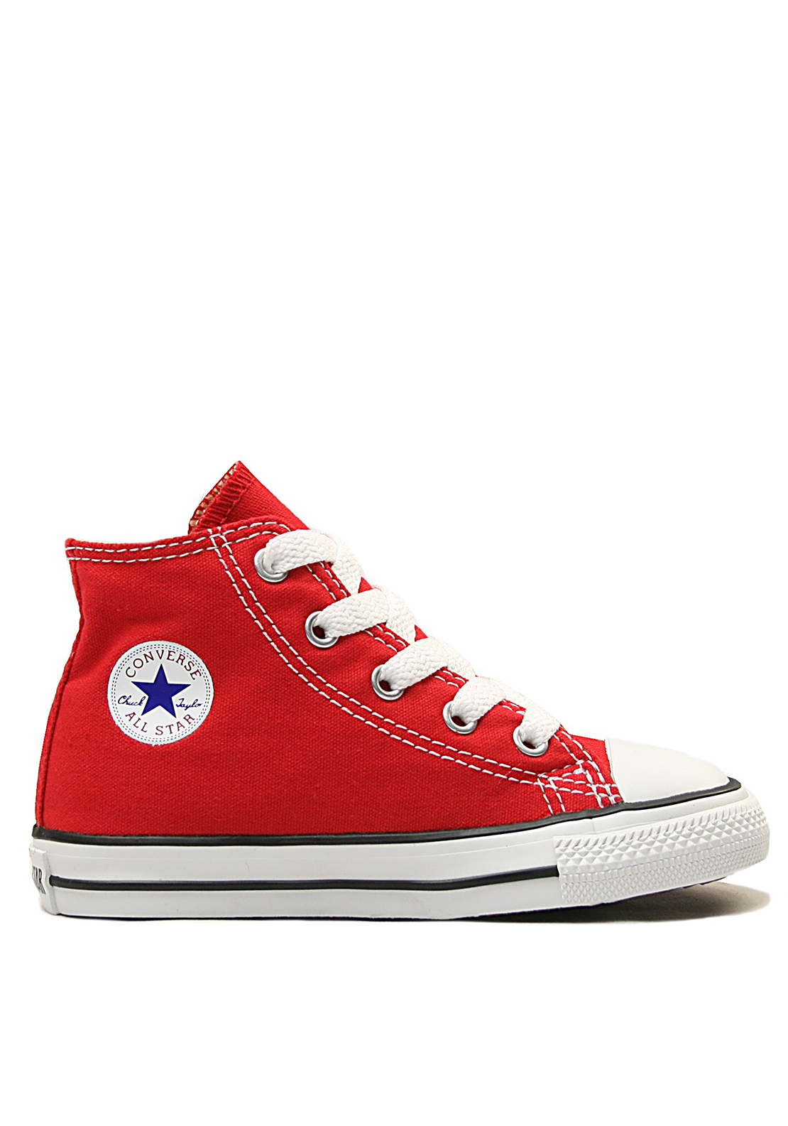 Converse Toddler All-Star Hi-Tops, Red