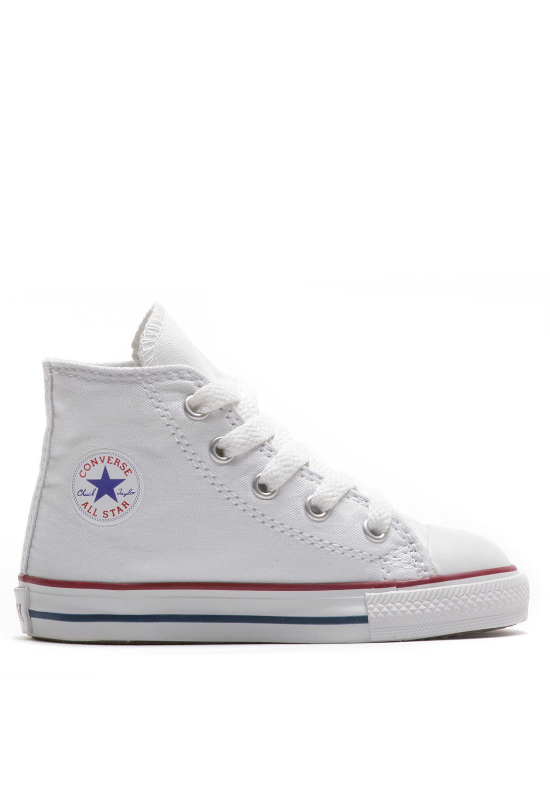 Converse Toddler All-Star Hi-Tops, White