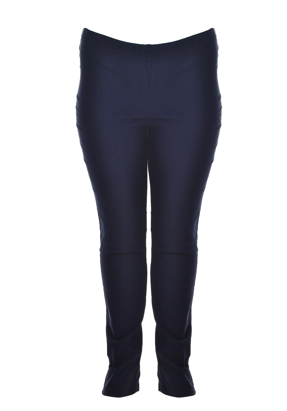 Ciso Slim Leg Legging Trousers, Navy