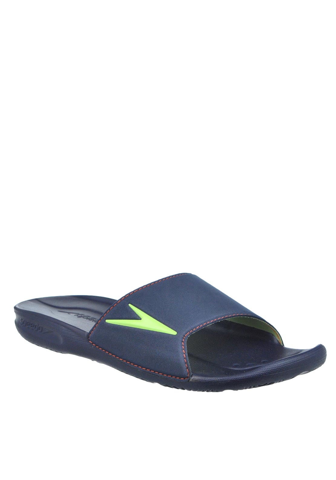 Speedo Mens Atami Slider Pool Sandals, Navy