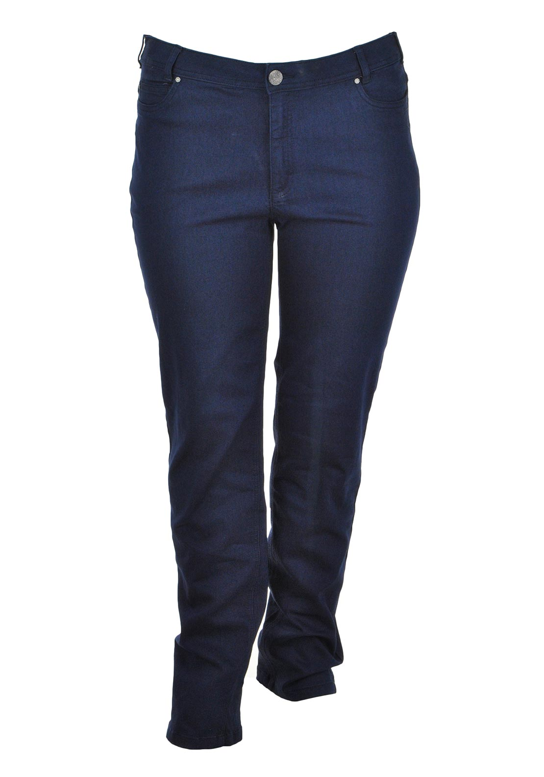 Ciso Straight Leg Jeans, Navy Denim