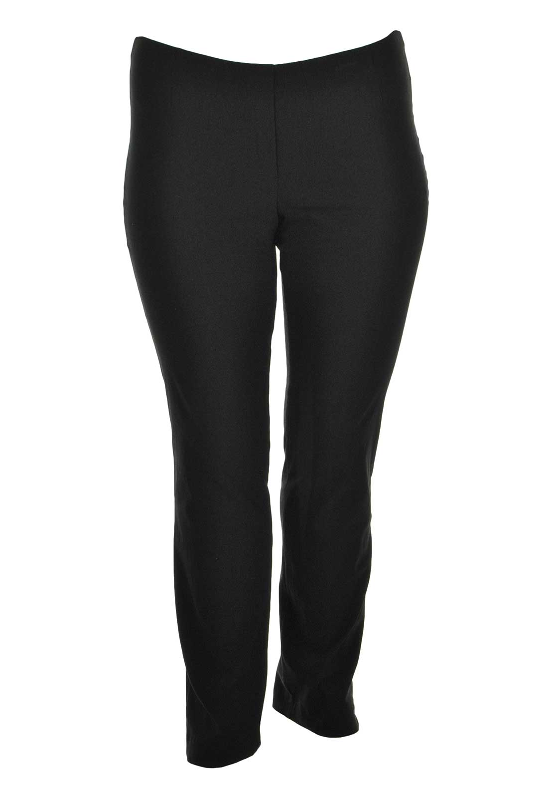 Doris Streich Slim Leg Trousers, Black