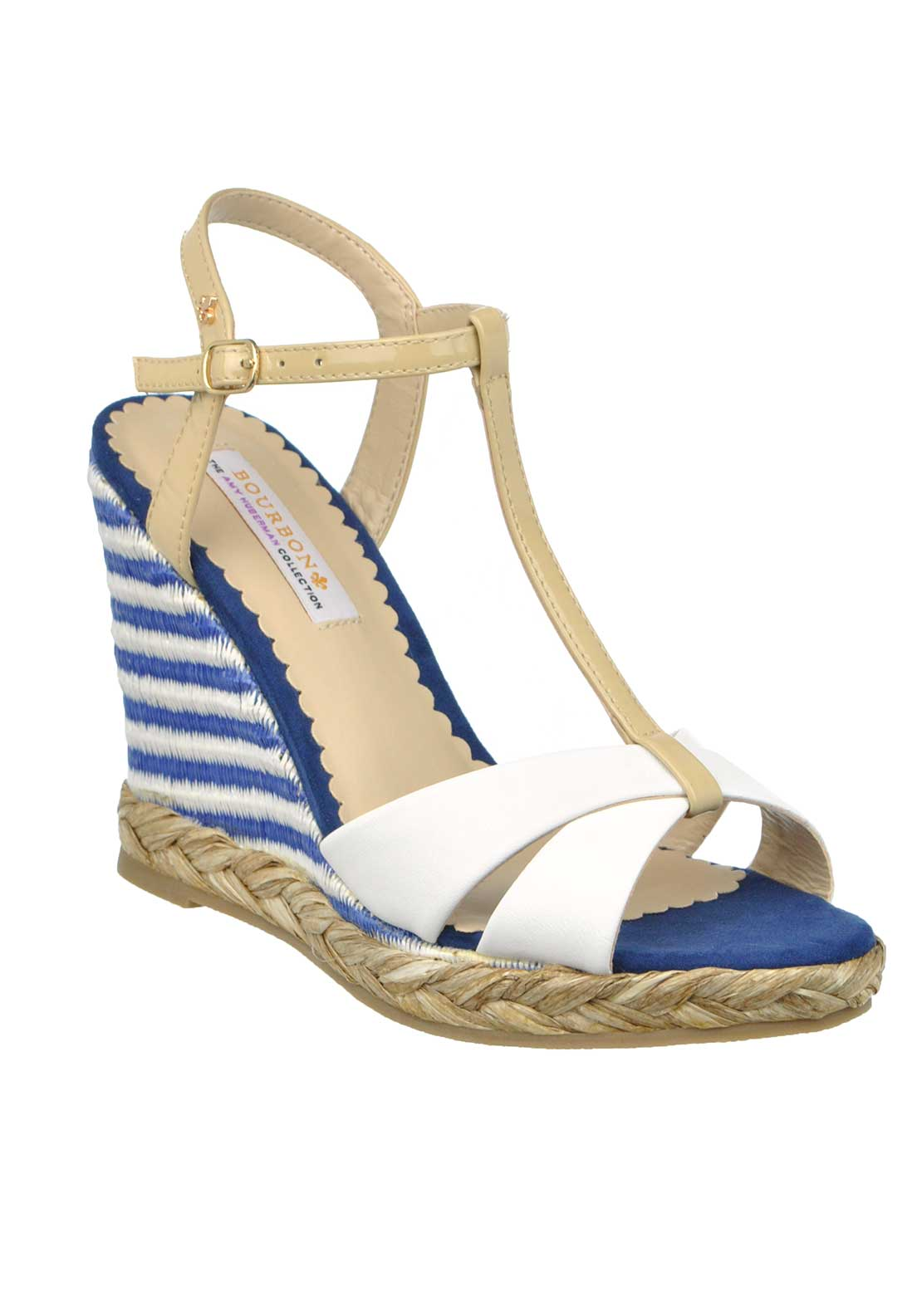 Amy Huberman Bourbon Always Married Leather Sandal