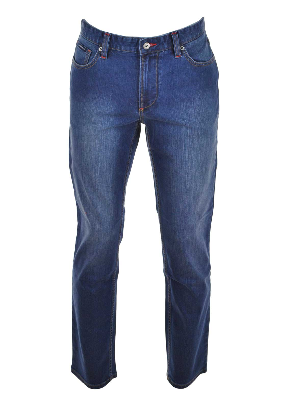 Andre Mens Balotelli Comfort Fit Jean, Blue