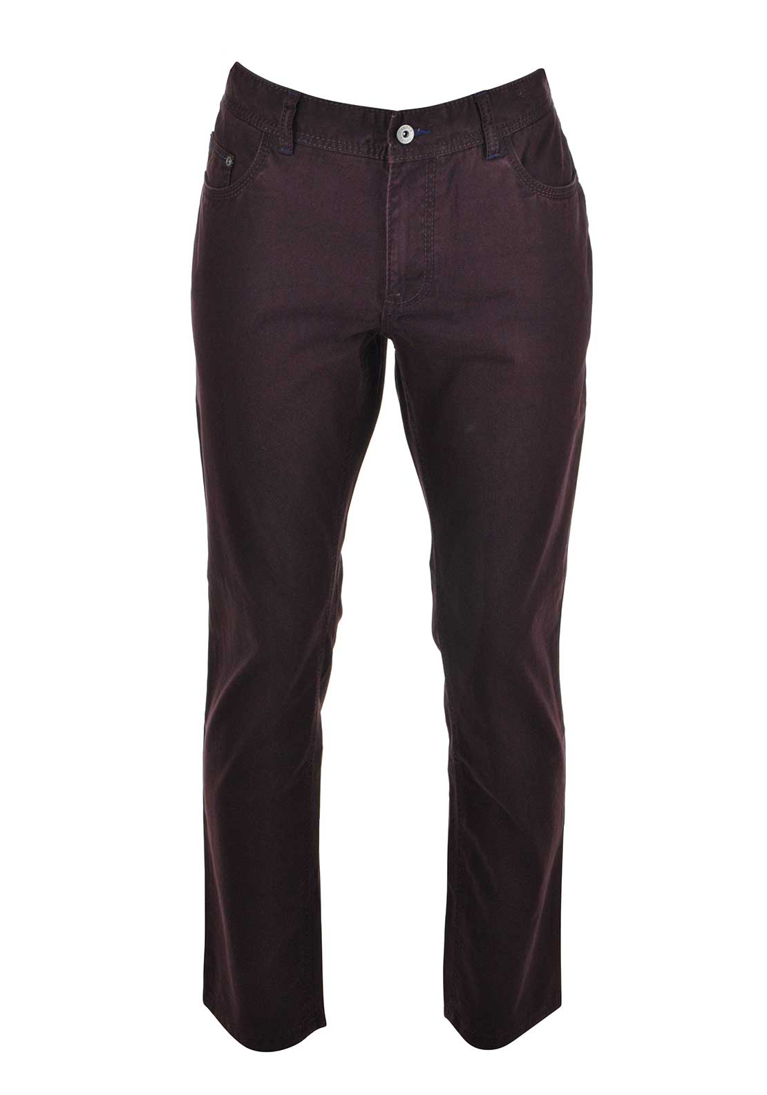 Andre Sterling Comfort Fit Jeans, Plum