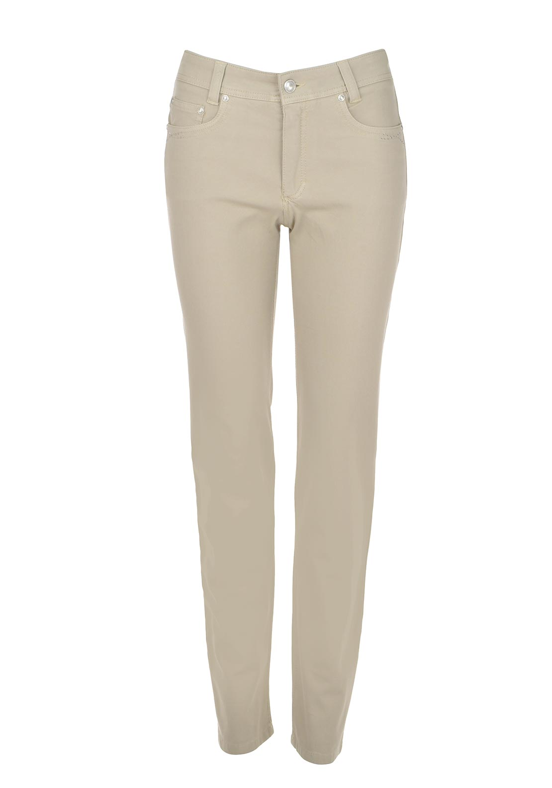 Anna Montana Angelika Magic Stretch Slim Leg Jeans, Beige