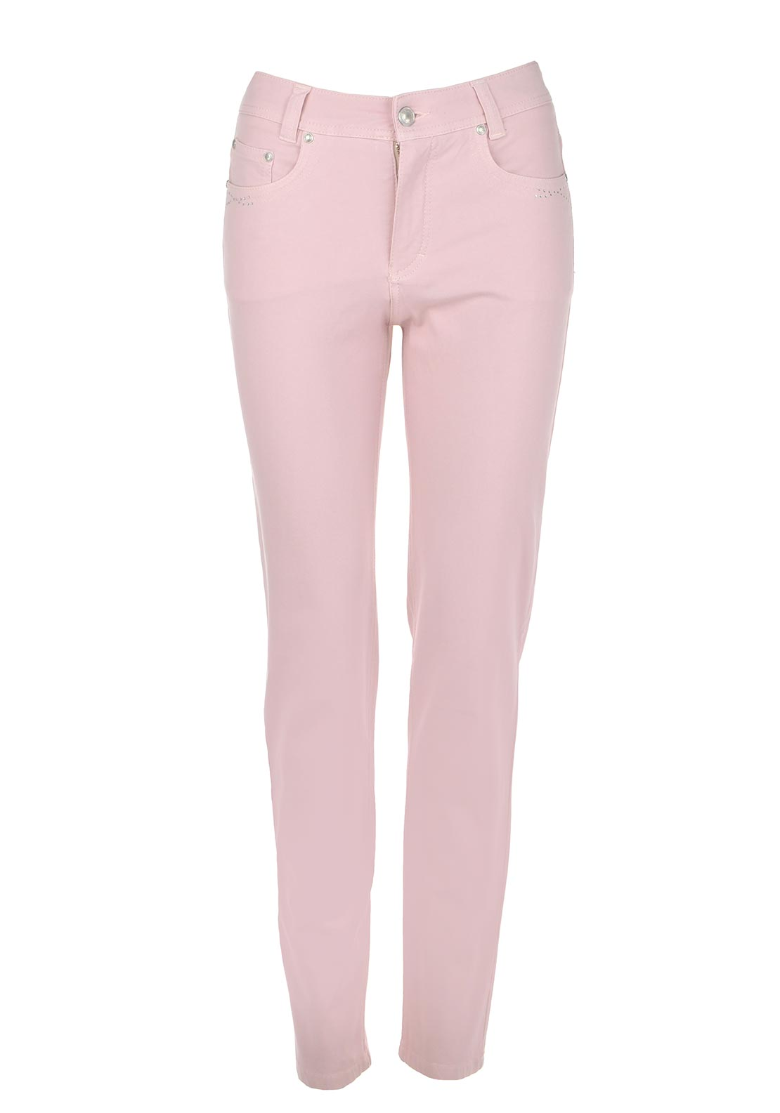 Anna Montana Angelika Magic Stretch Slim Leg Jeans, Rose Pink