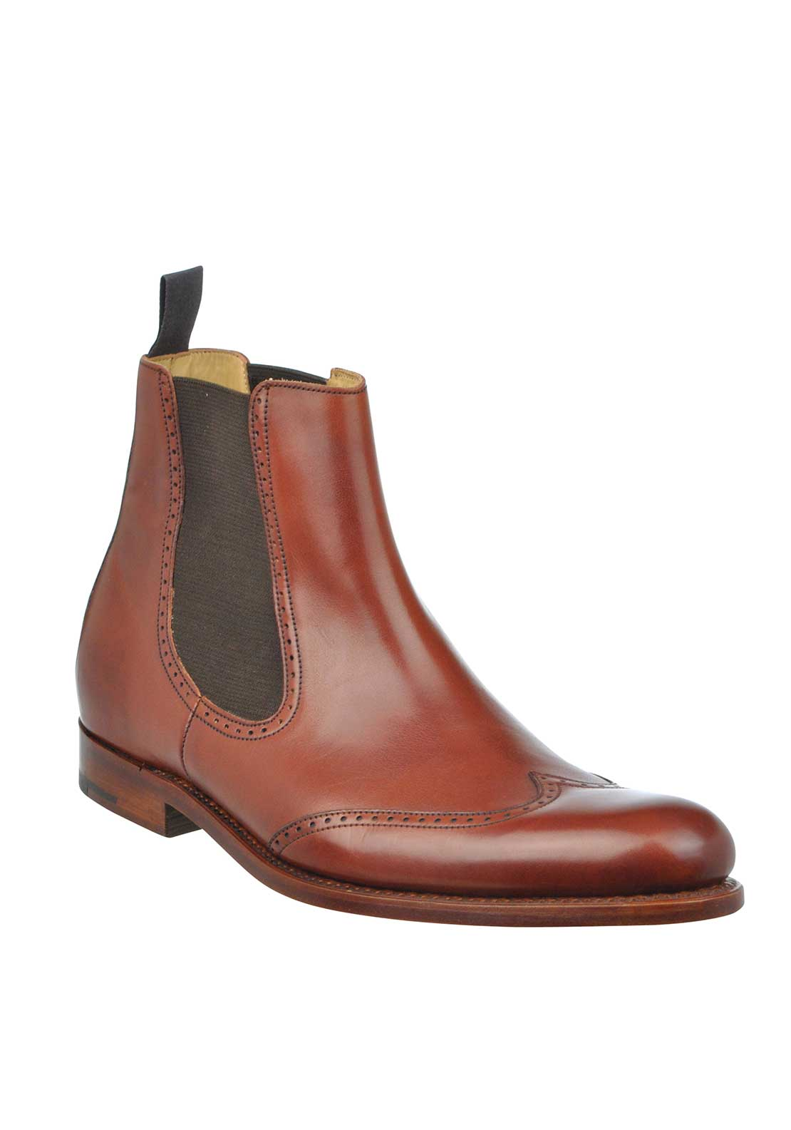 Barker Mens Luxembourg Chelsea Boots, Rosewood