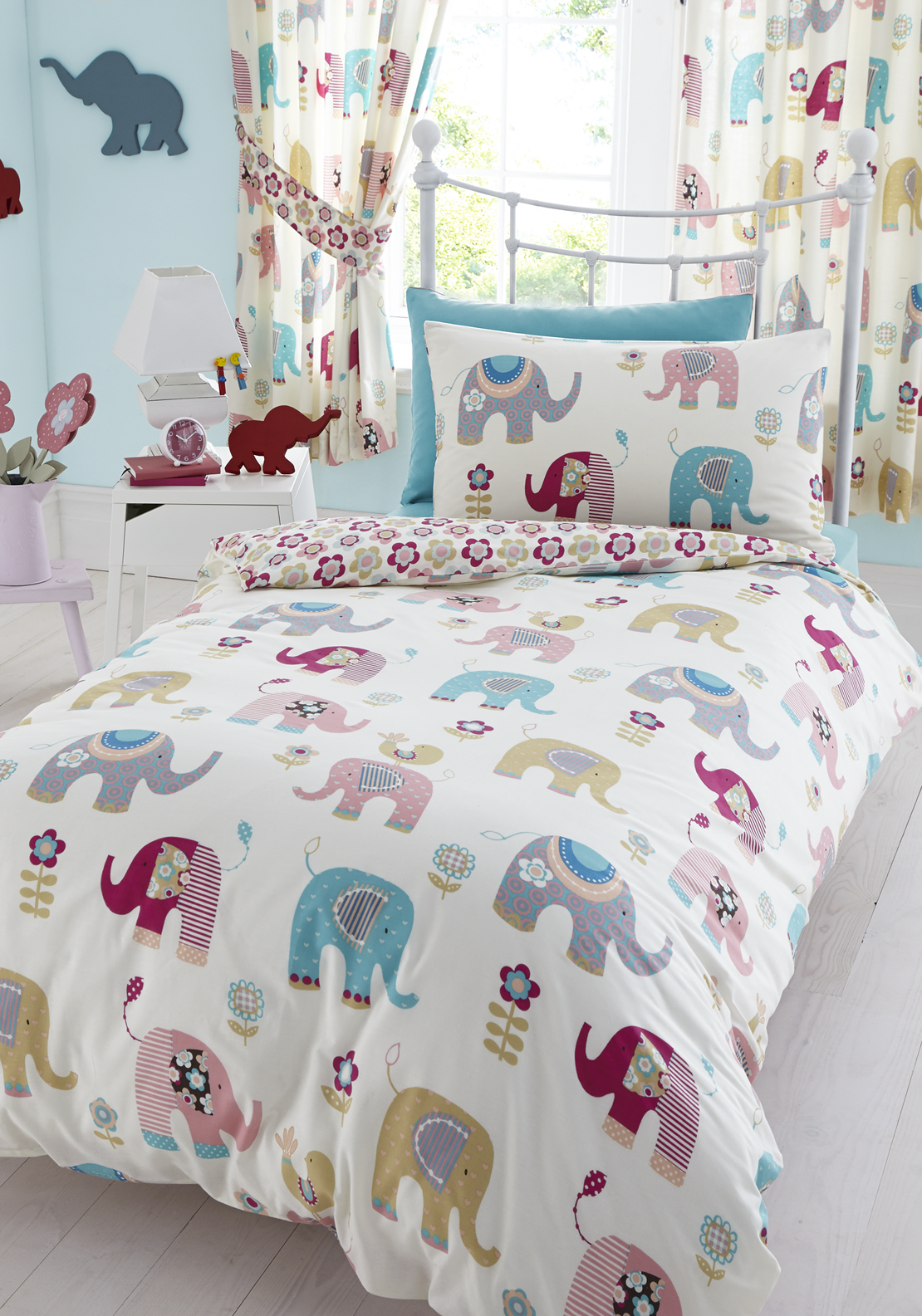 Kids Club Jumbo Duvet Set, Pink