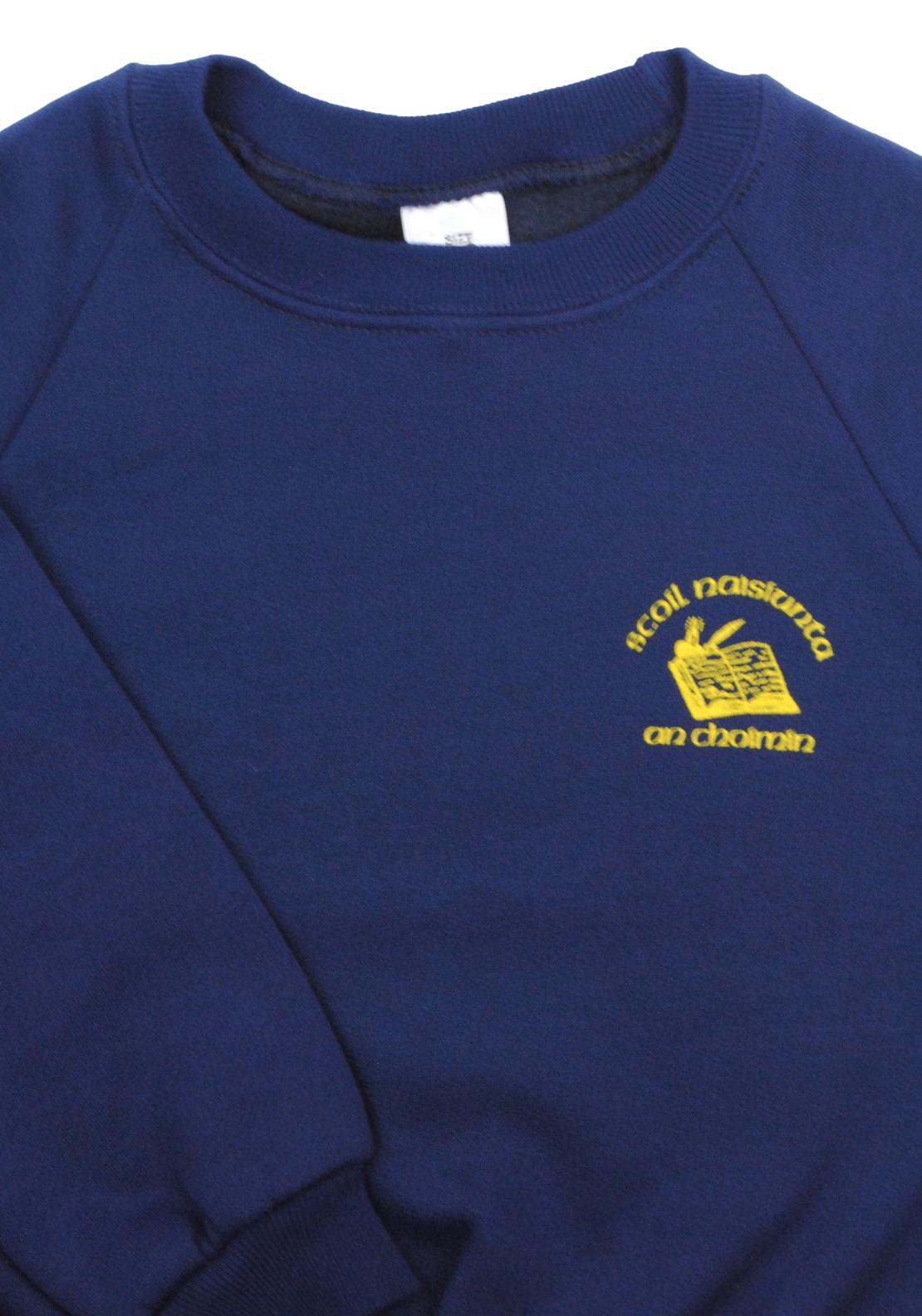 Scoil Naisiunta An Choimín School Jumper, Navy