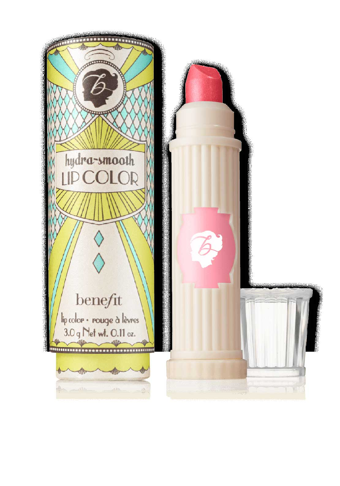 Benefit Hydra Smooth Air Kiss Lip Colour, Sheer Bubblegum