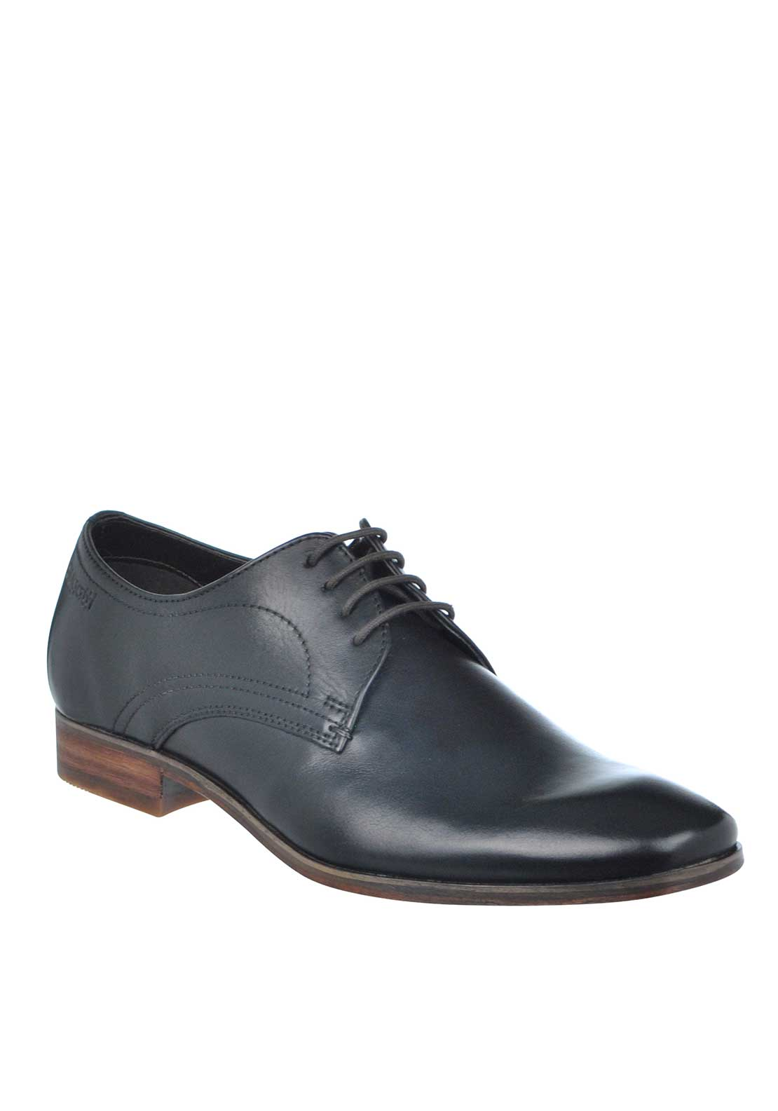 Bugatti Lace Up Leather Formal Shoe, Black