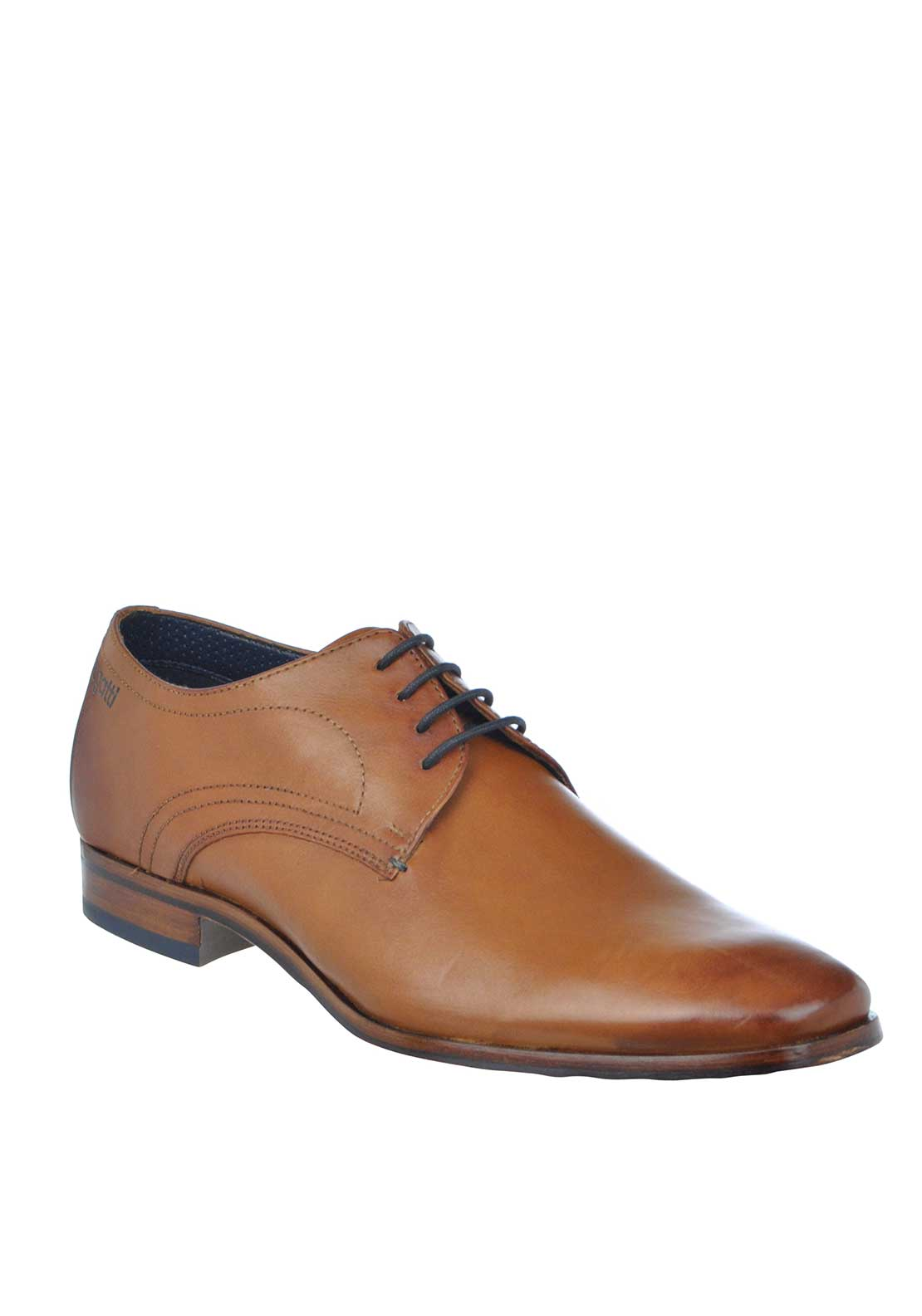 Bugatti Lace Up Leather Formal Shoe, Tan