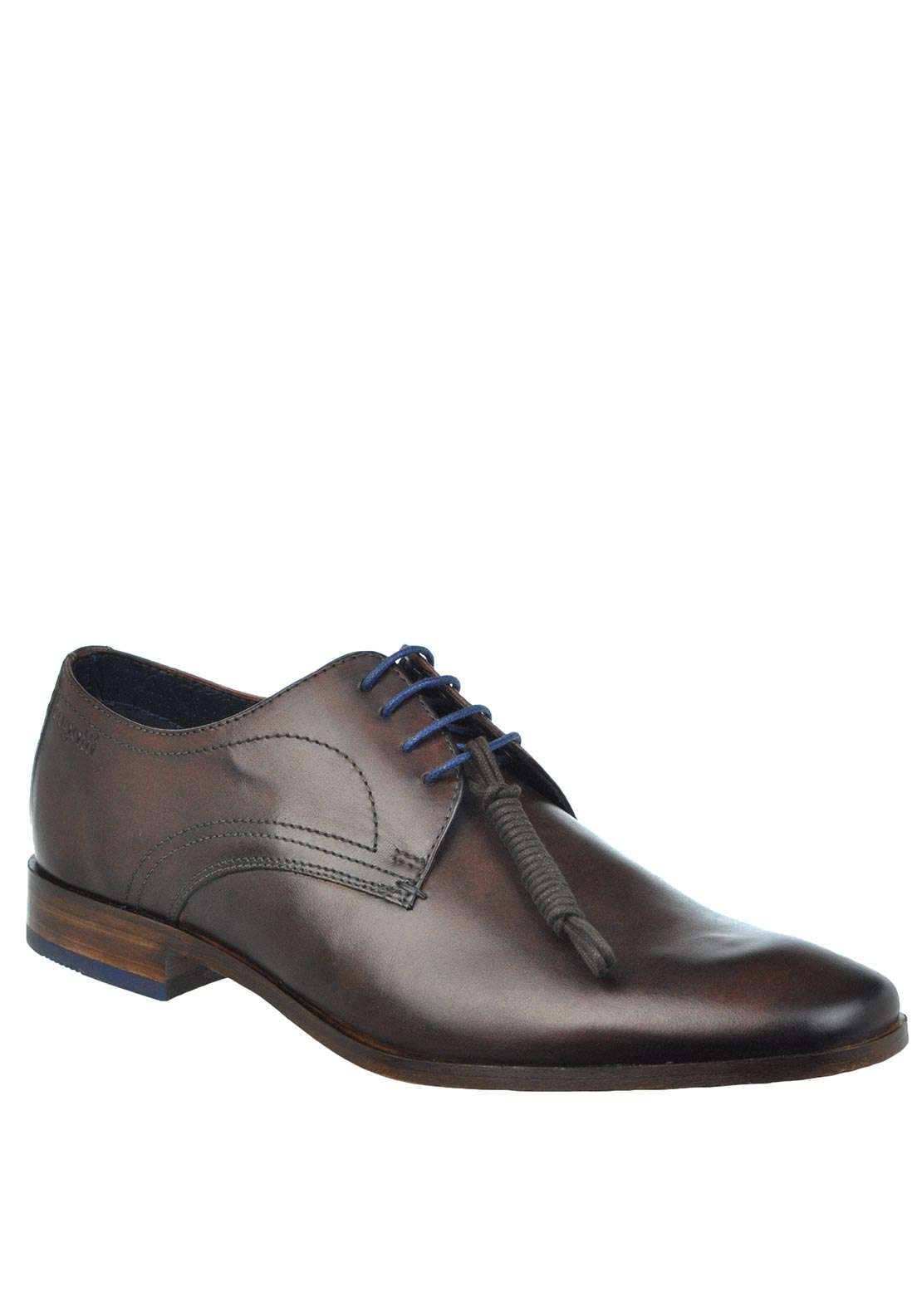 Bugatti Leather Formal Laced Shoe, Brown