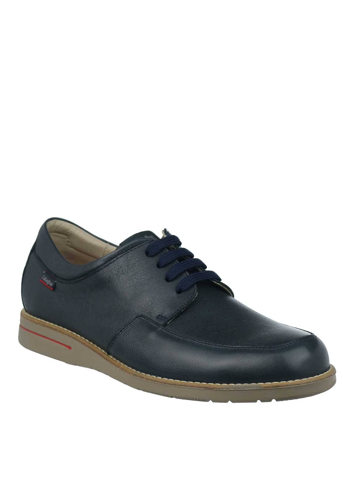 Callaghan Lace Up Leather Shoe, Navy