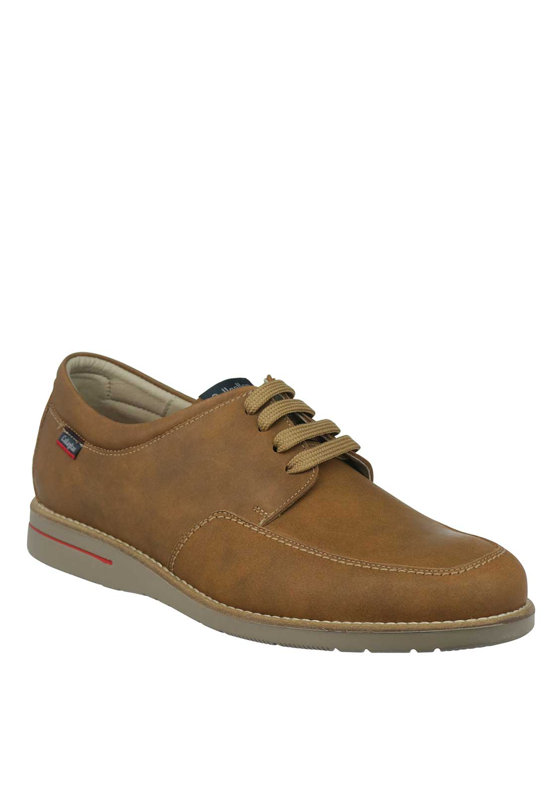 Callaghan Lace Up Leather Shoe, Tan