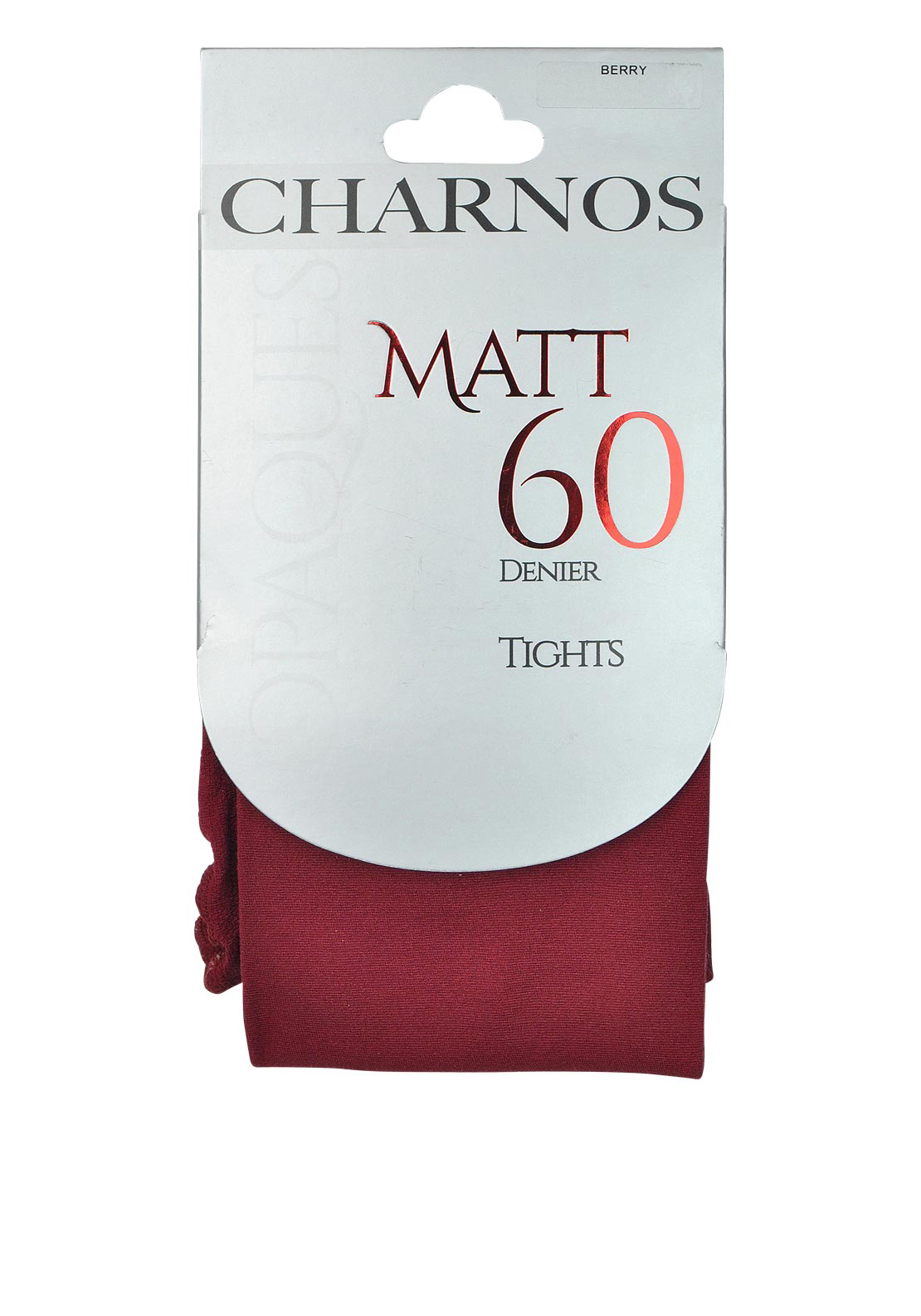 Charnos Opaques Matt 60 Denier Tights, Berry