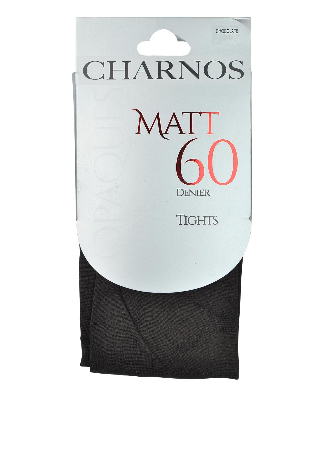 Charnos Opaques Matt 60 Denier Tights, Chocolate Brown