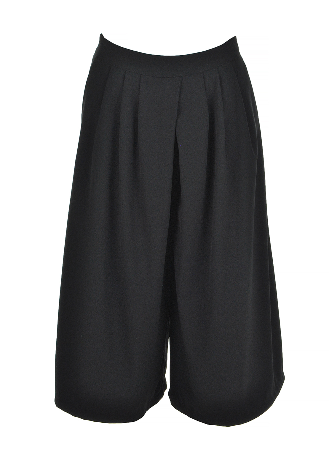d.e.c.k. By Decollage Cullottes Cropped Trousers, Black