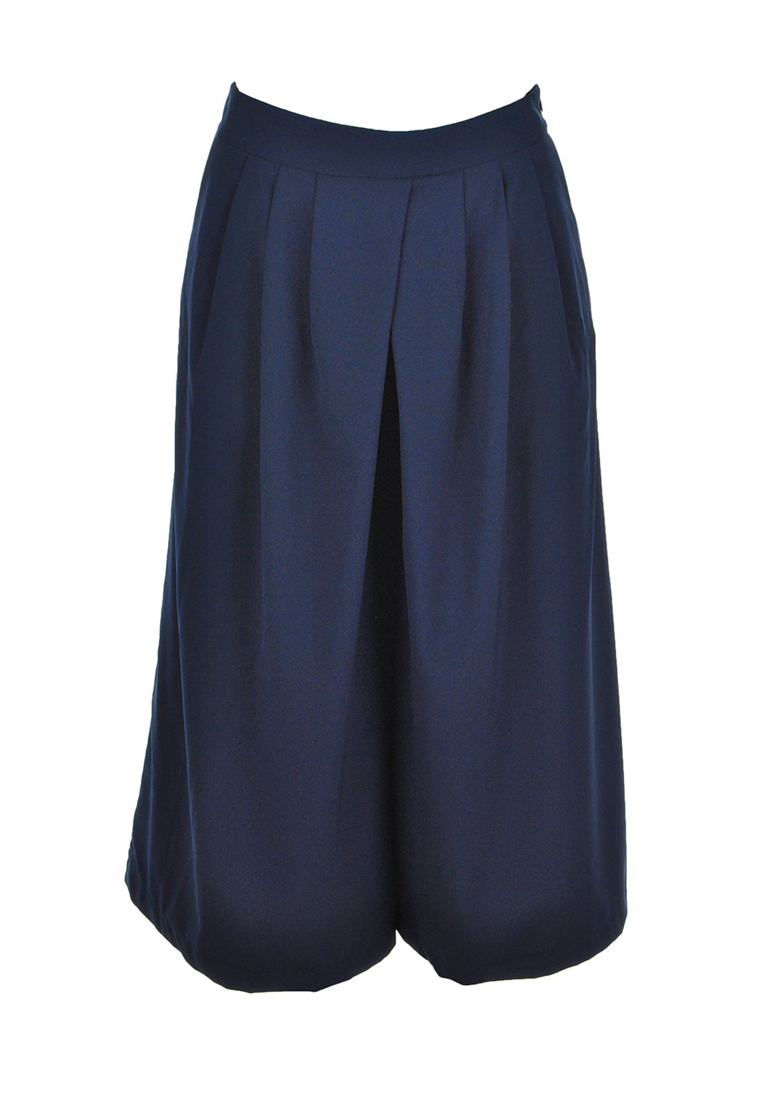 d.e.c.k. By Decollage Cullottes Cropped Trousers, Navy