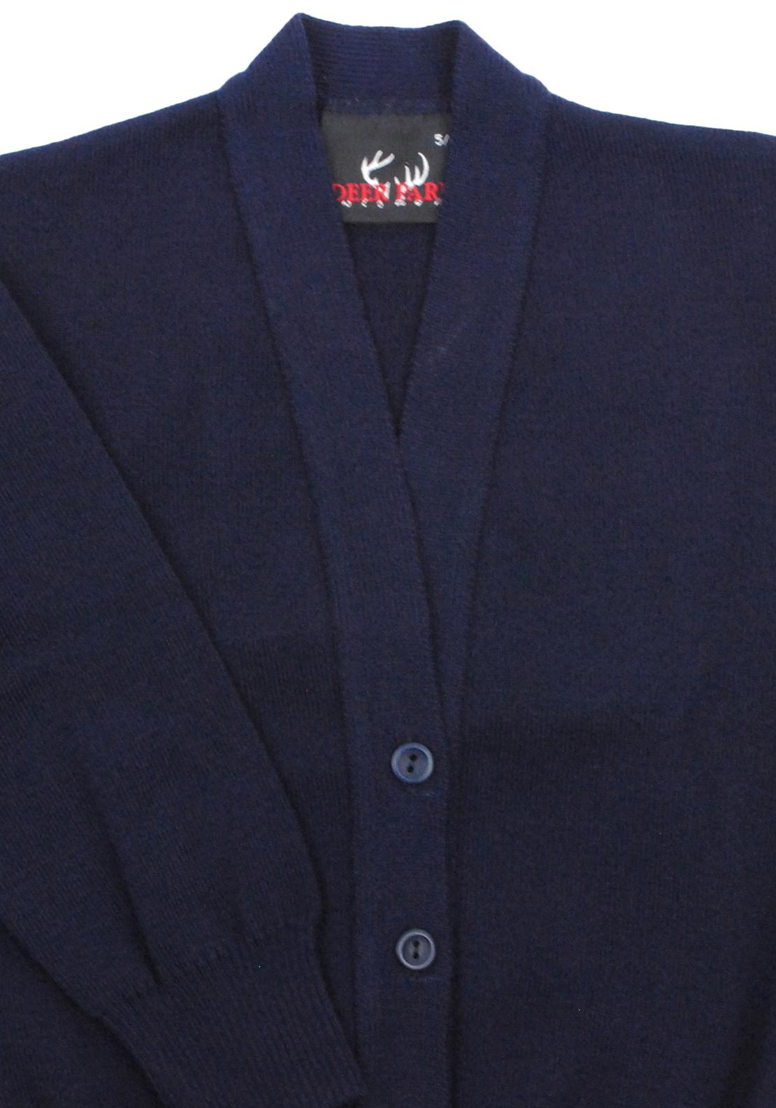 Deer Park School Cardigan, Navy
