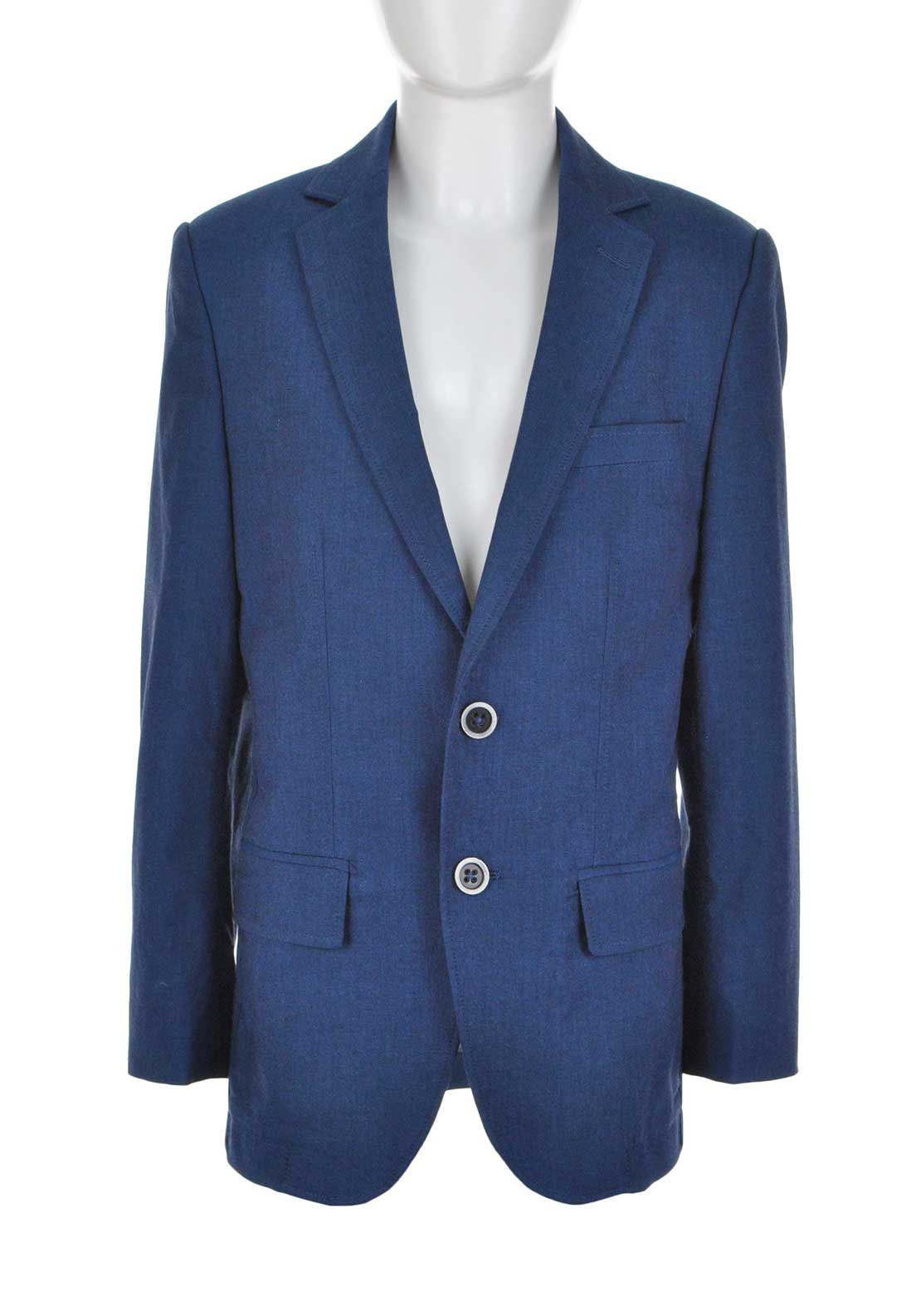 1880 Club Boys Woven Blazer Jacket, Blue