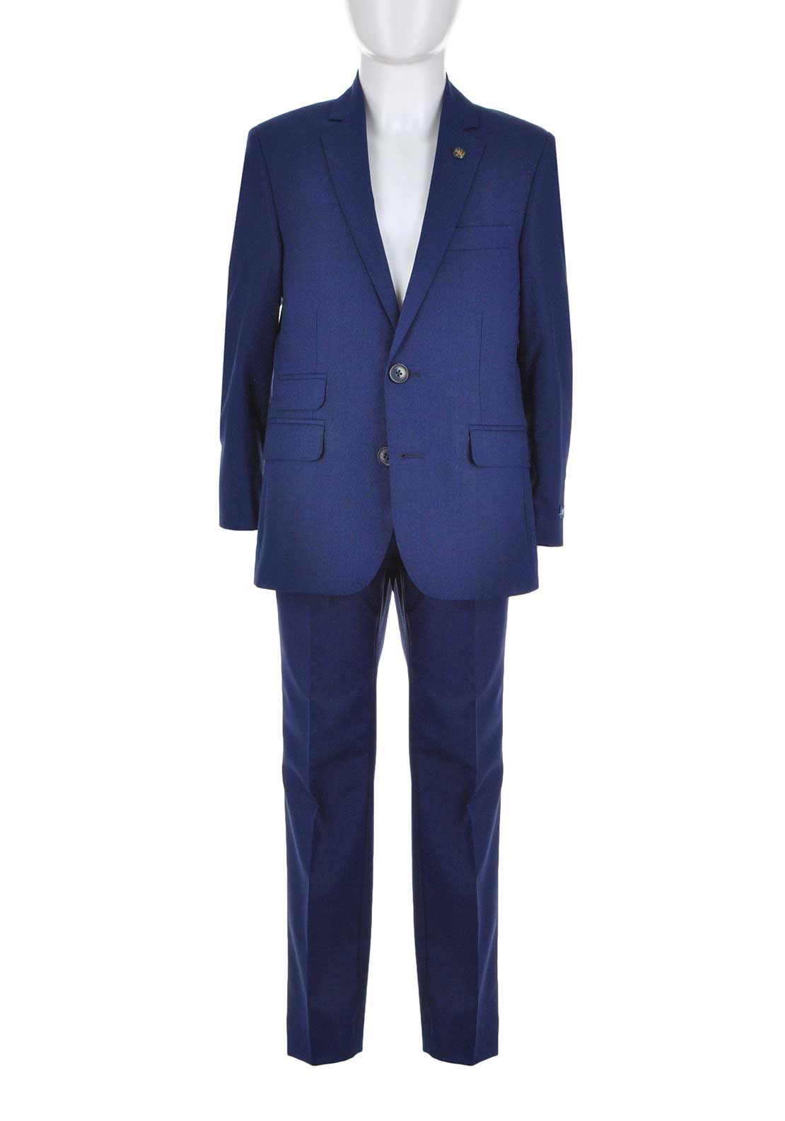 1880 Club Boys Woven Two Piece Suit, Blue