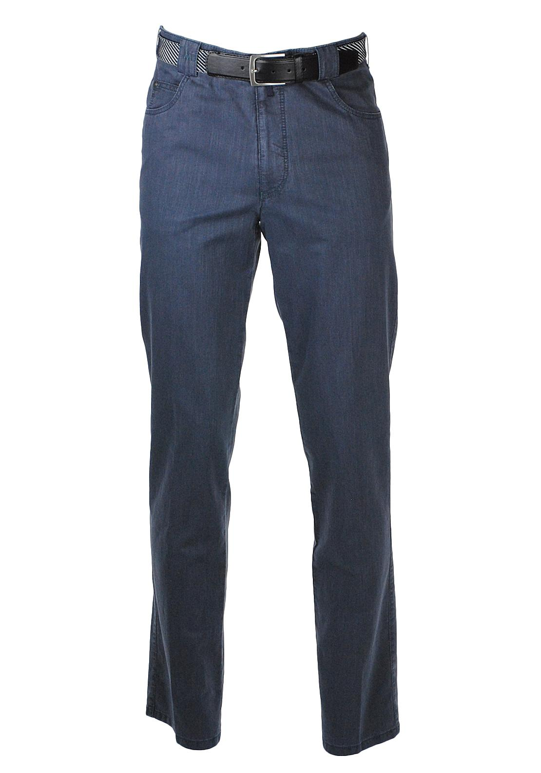 Meyer Diego Trousers, Navy