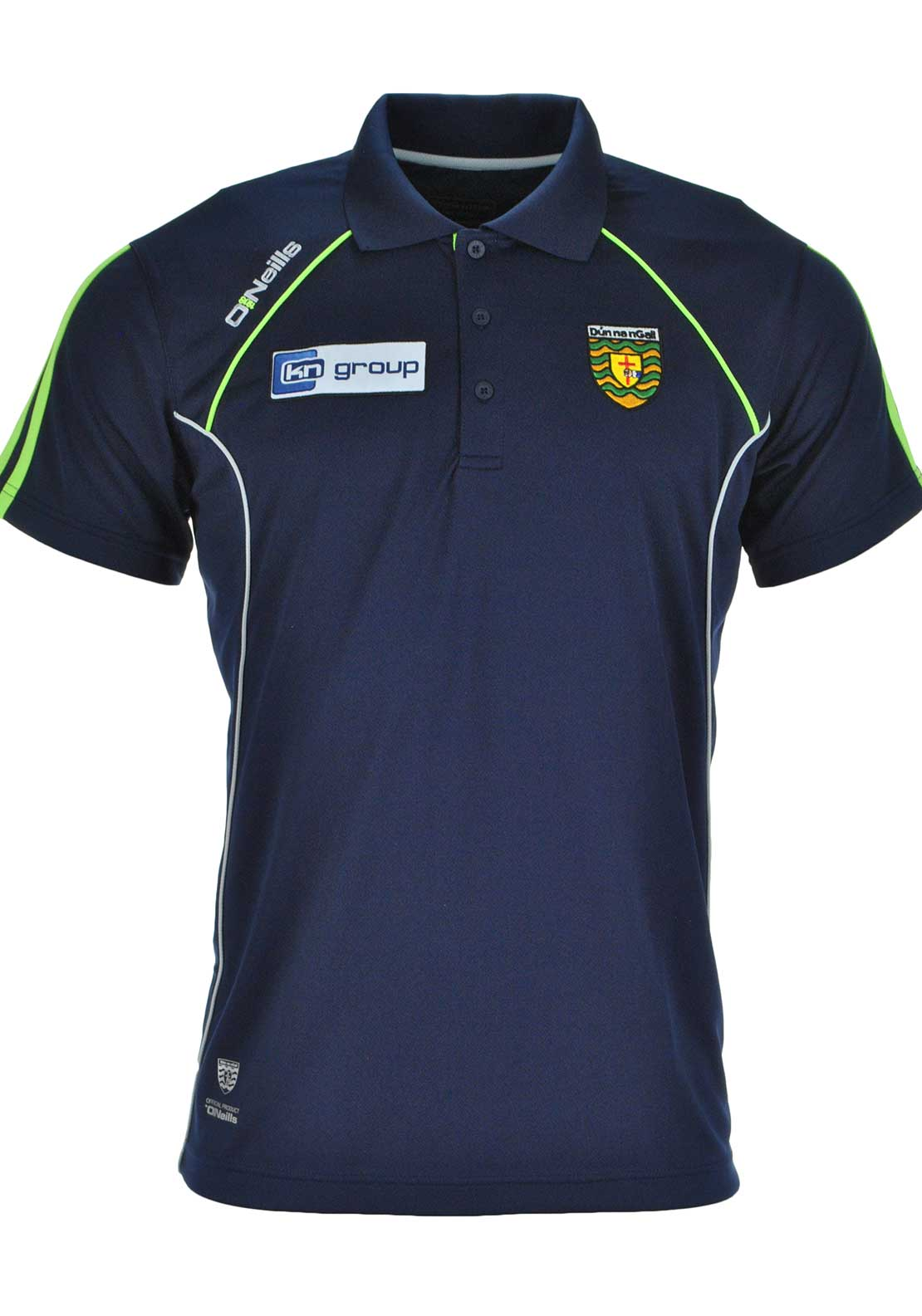 O'Neills Donegal GAA Adults Ormond Polo Shirt, Navy