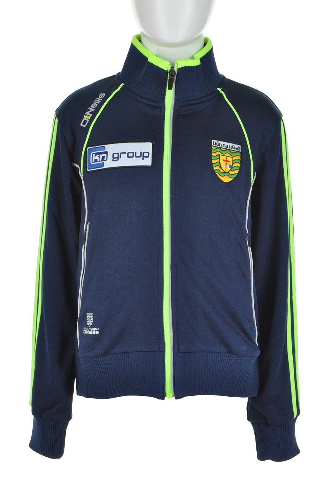 O'Neills Donegal GAA Ormond Full Zip Jacket, Navy