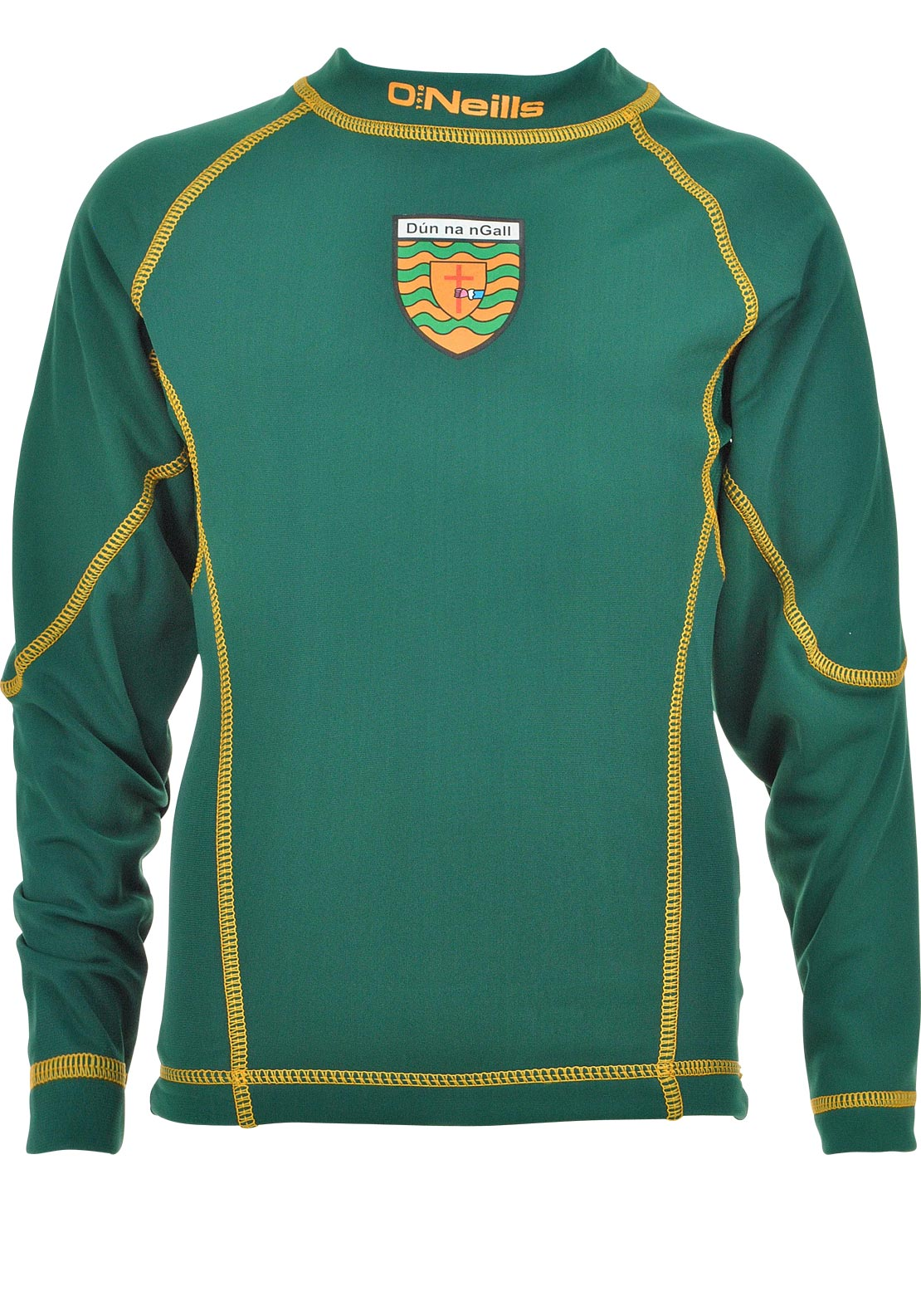 O'Neill's Adults GAA Body Warmer Donegal Training Top, Green