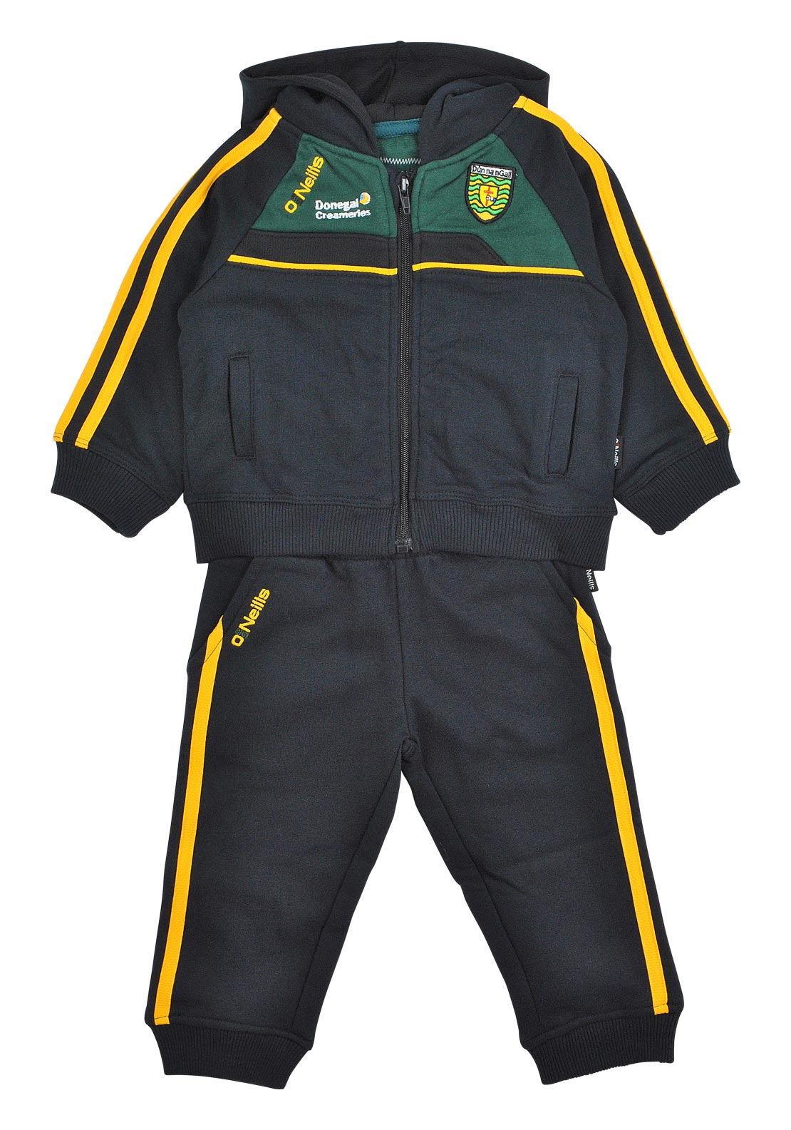 O' Neill's Boys Baby Boy GAA Errigal Donegal Tracksuit, Black